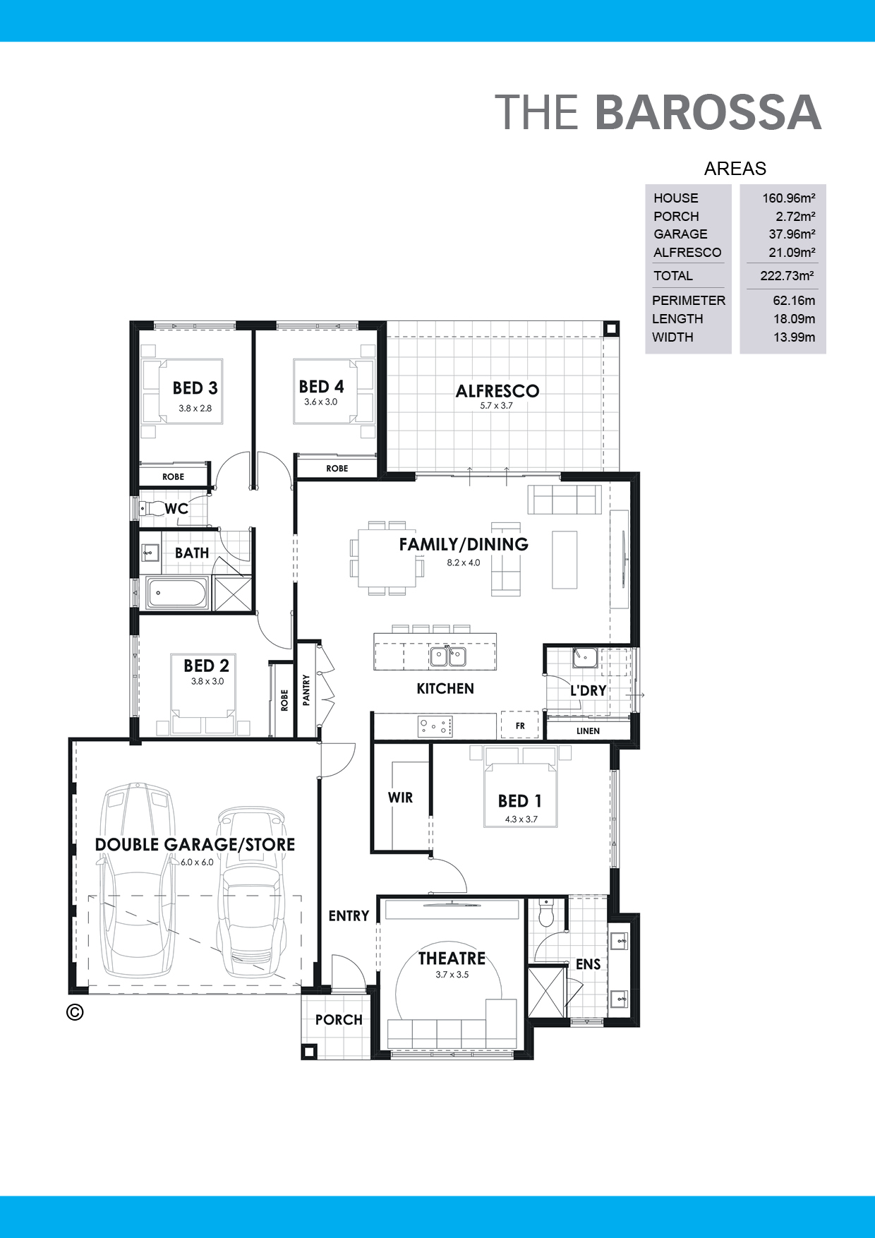 The Barossa Floorplan