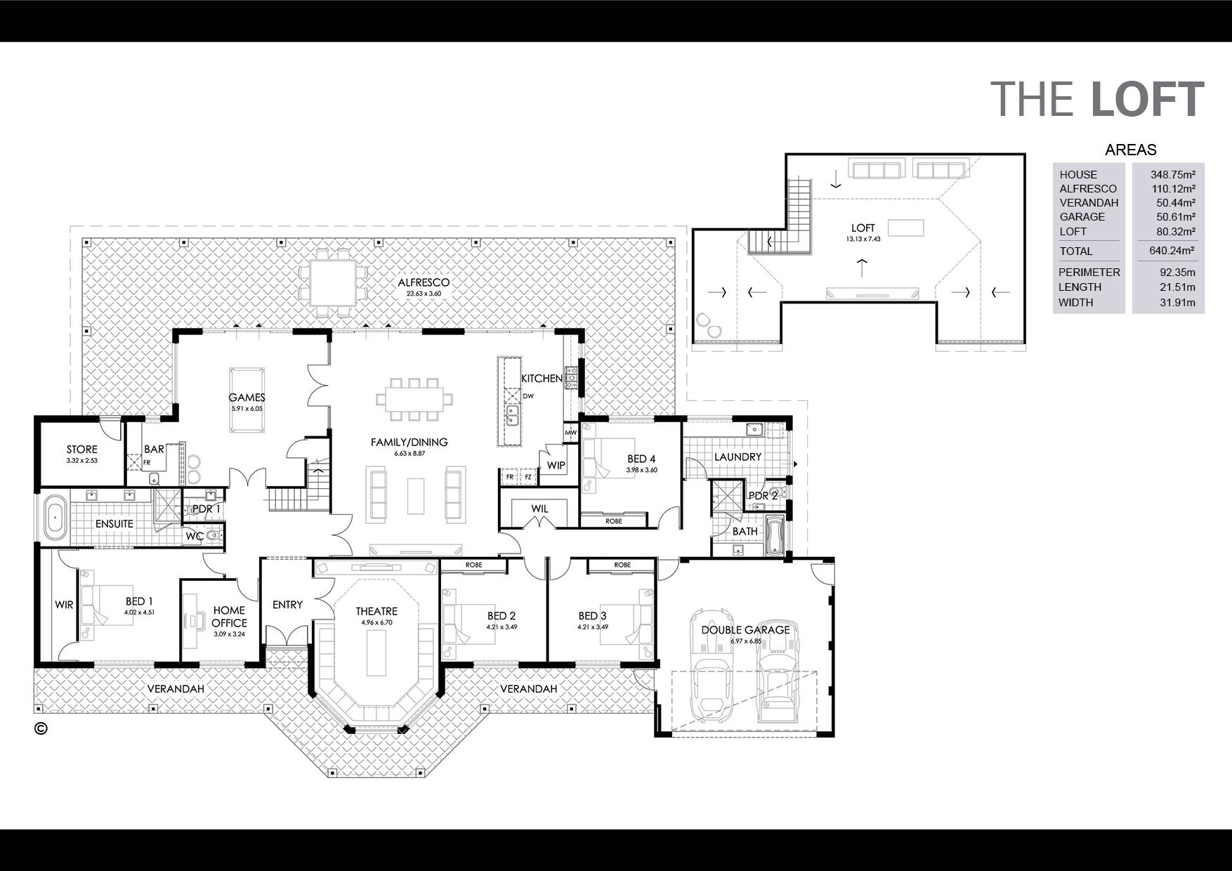 The Loft Floorplan