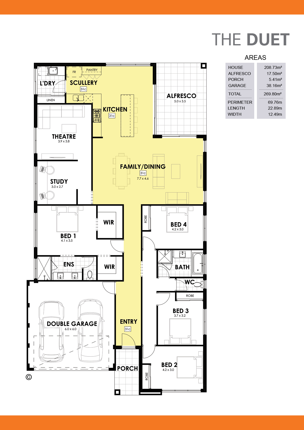 The Duet Floorplan