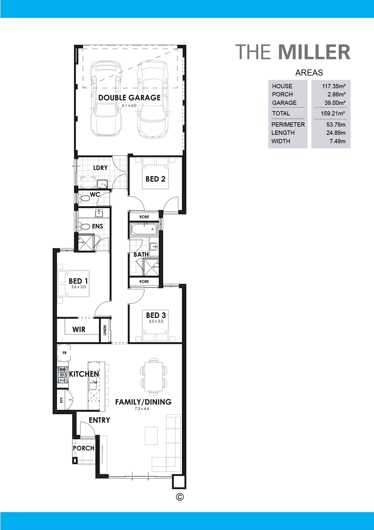 The Miller Floorplan