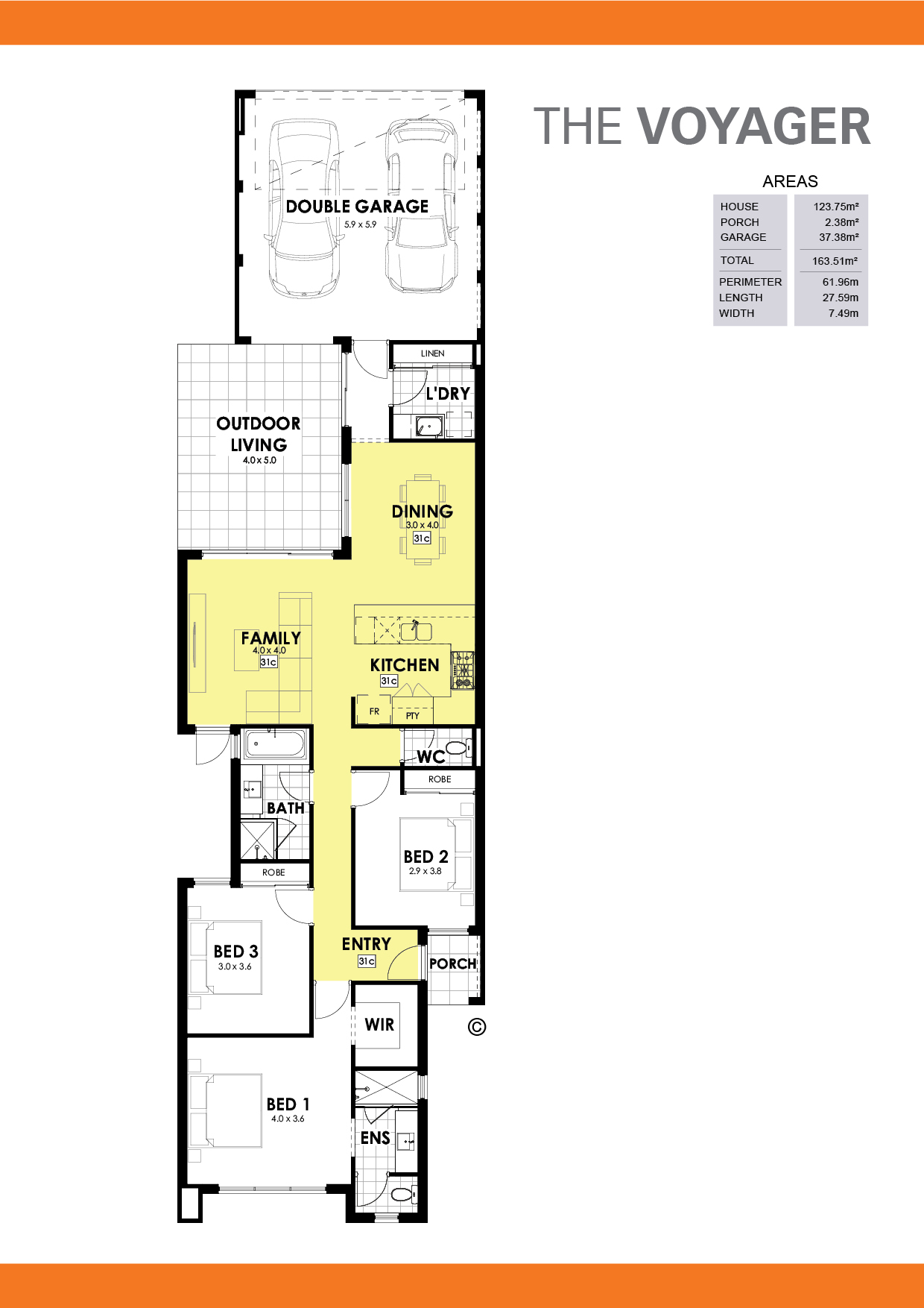 The Voyager Floorplan