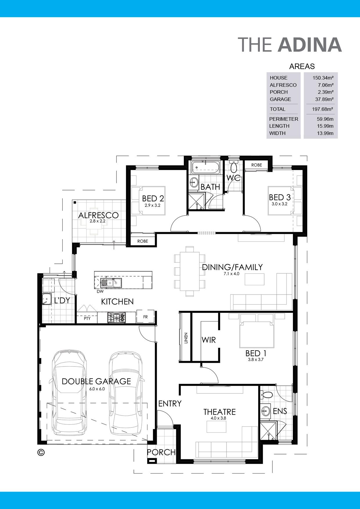 The Adina Floorplan