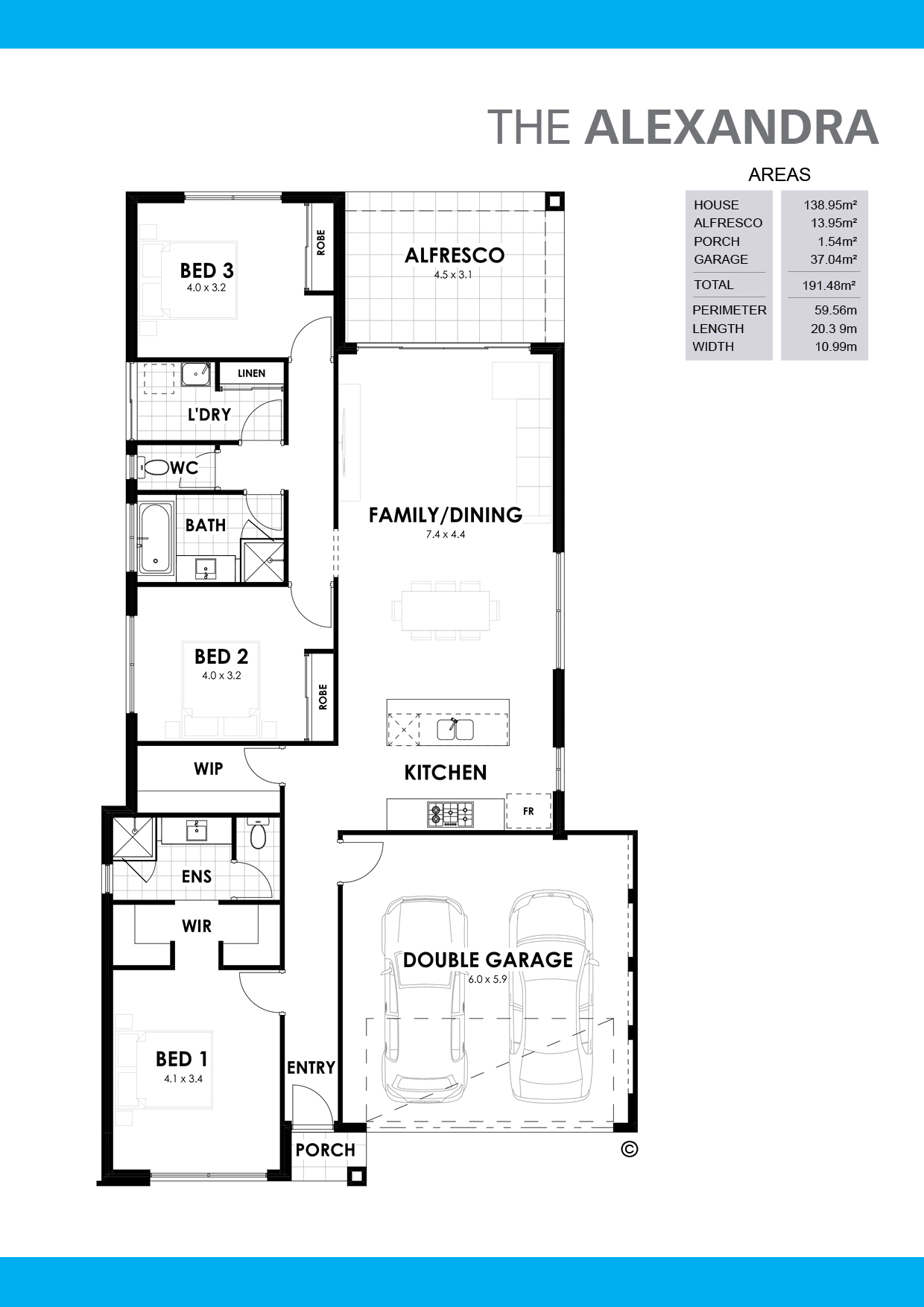 The Alexandra Floorplan