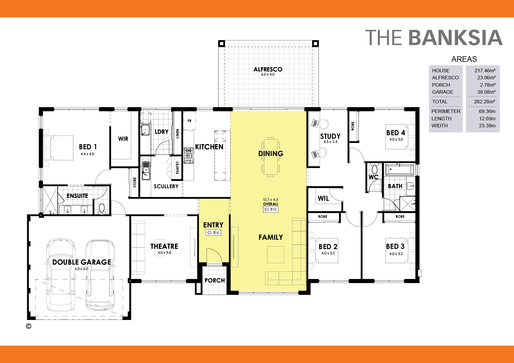 The Banksia Floorplan