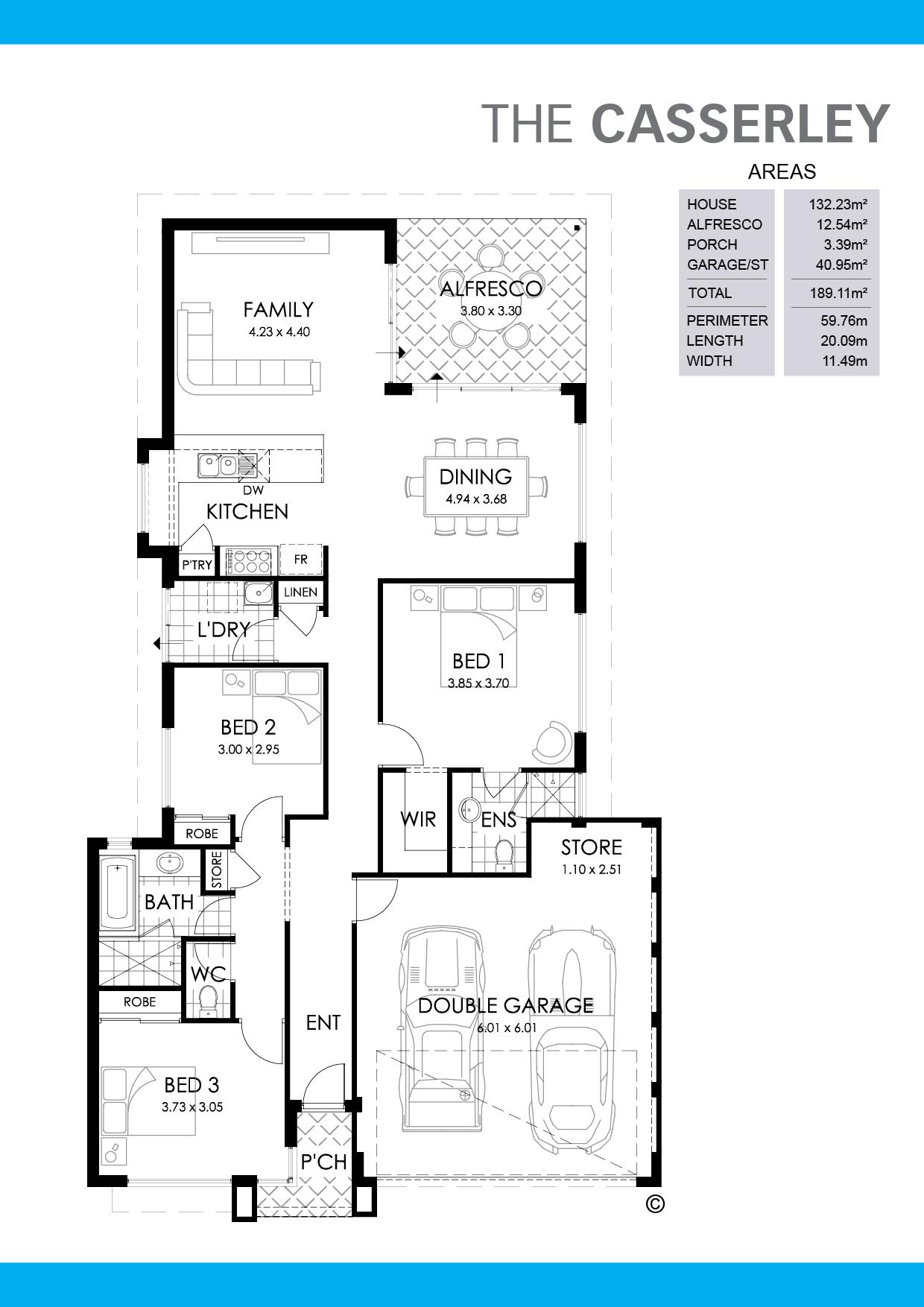 The Casserley Floorplan
