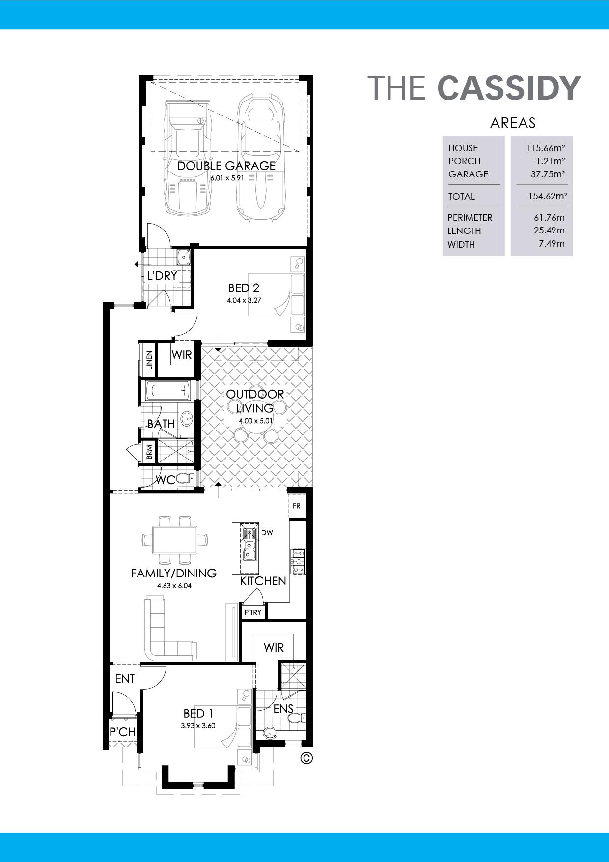 The Cassidy Floorplan