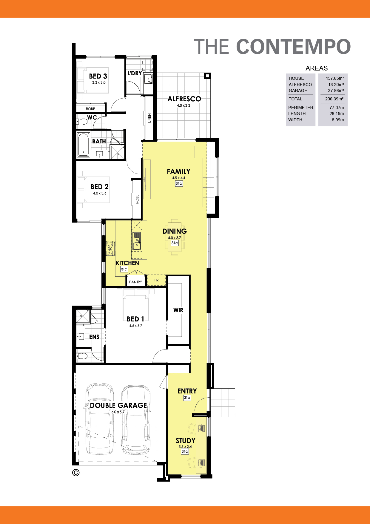 The Contempo Floorplan