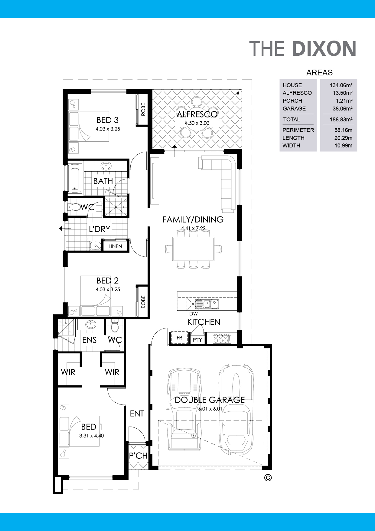 The Dixon Floorplan