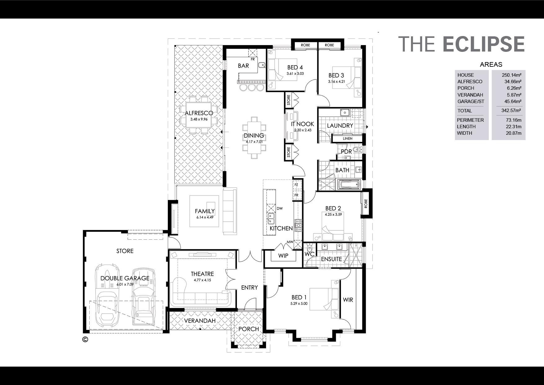 The Eclipse Floorplan