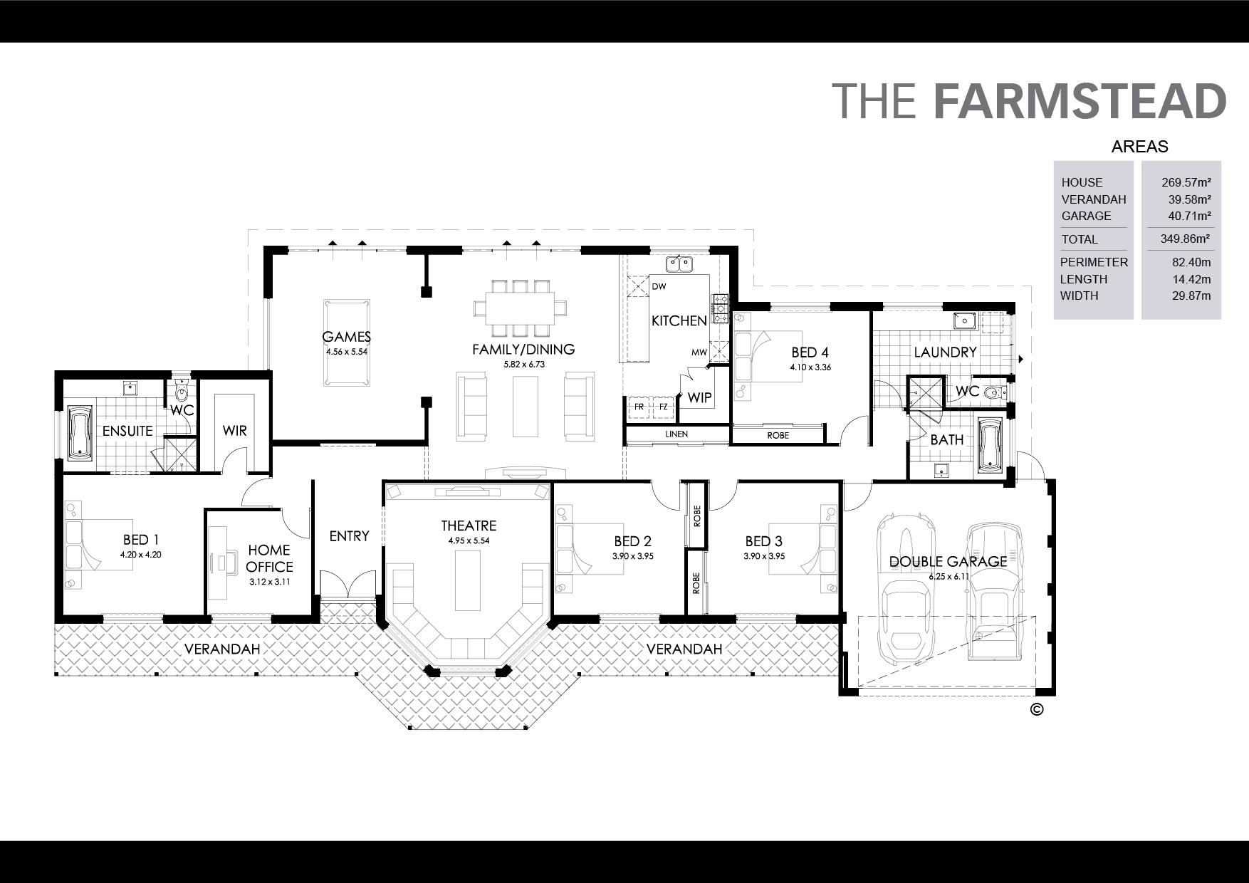 The Farmstead Floorplan