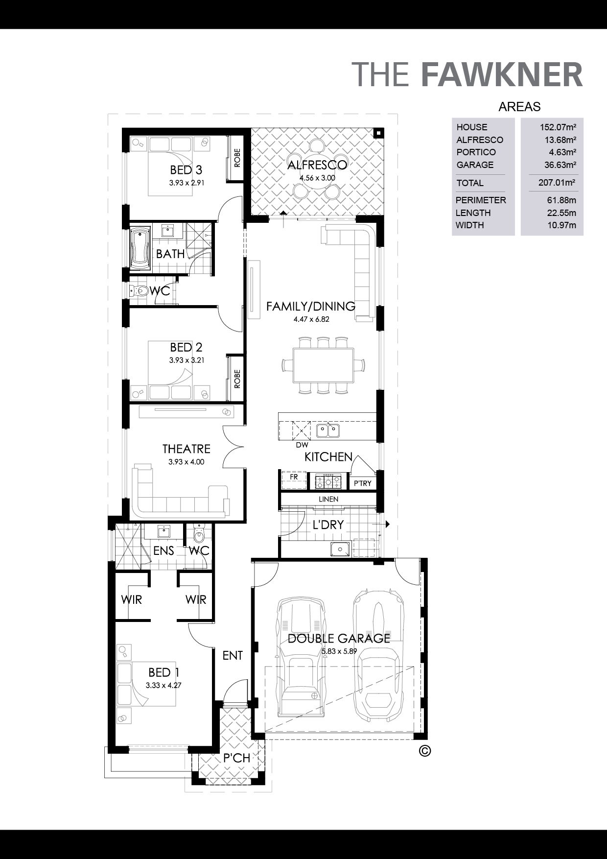 The Fawkner Floorplan