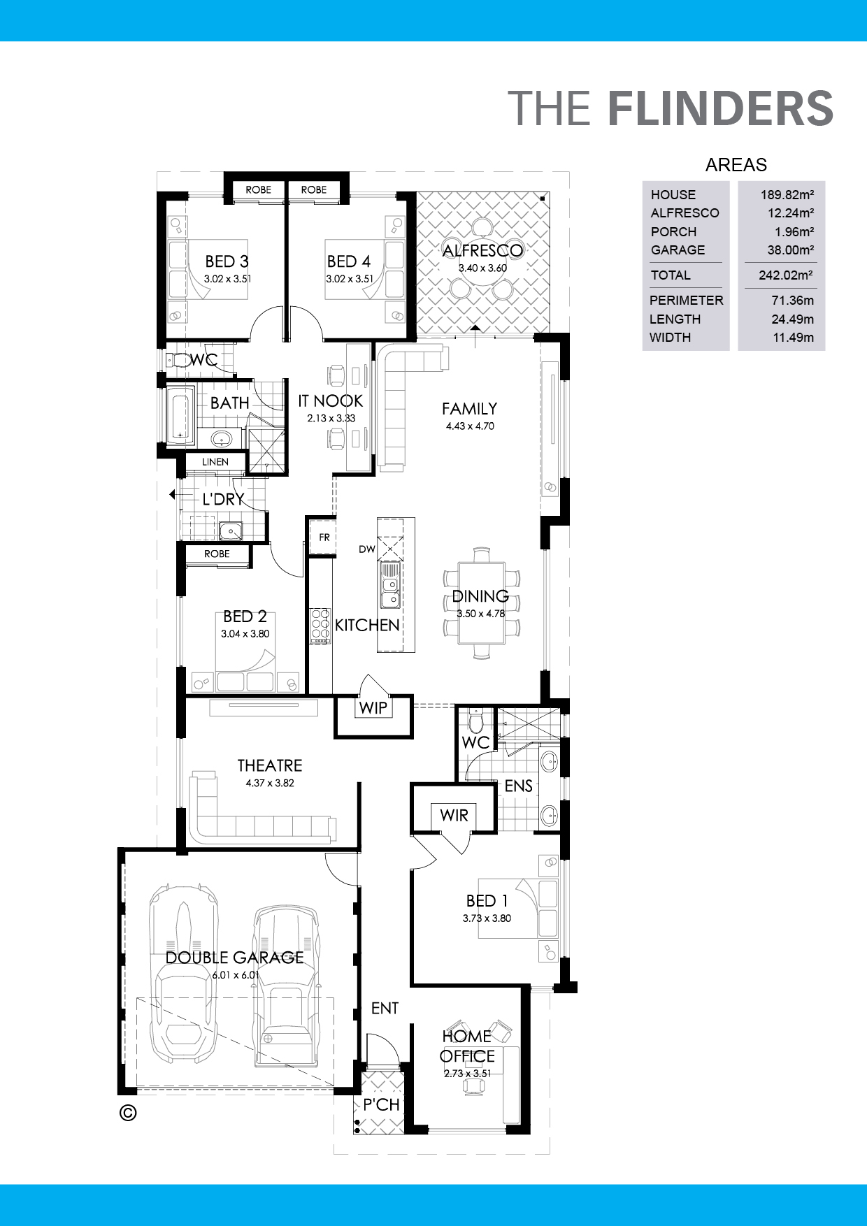The Flinders Floorplan
