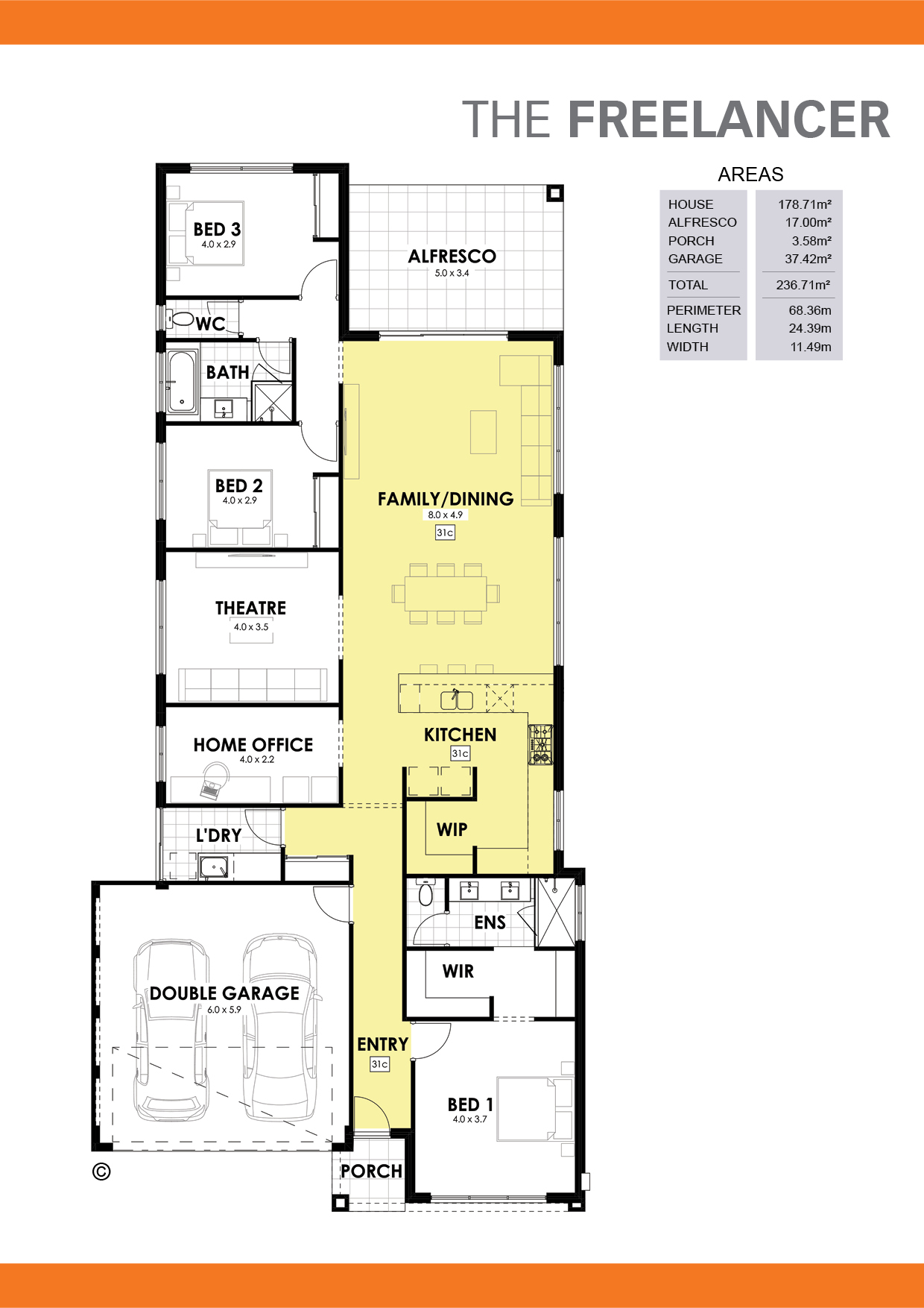 The Freelancer Floorplan