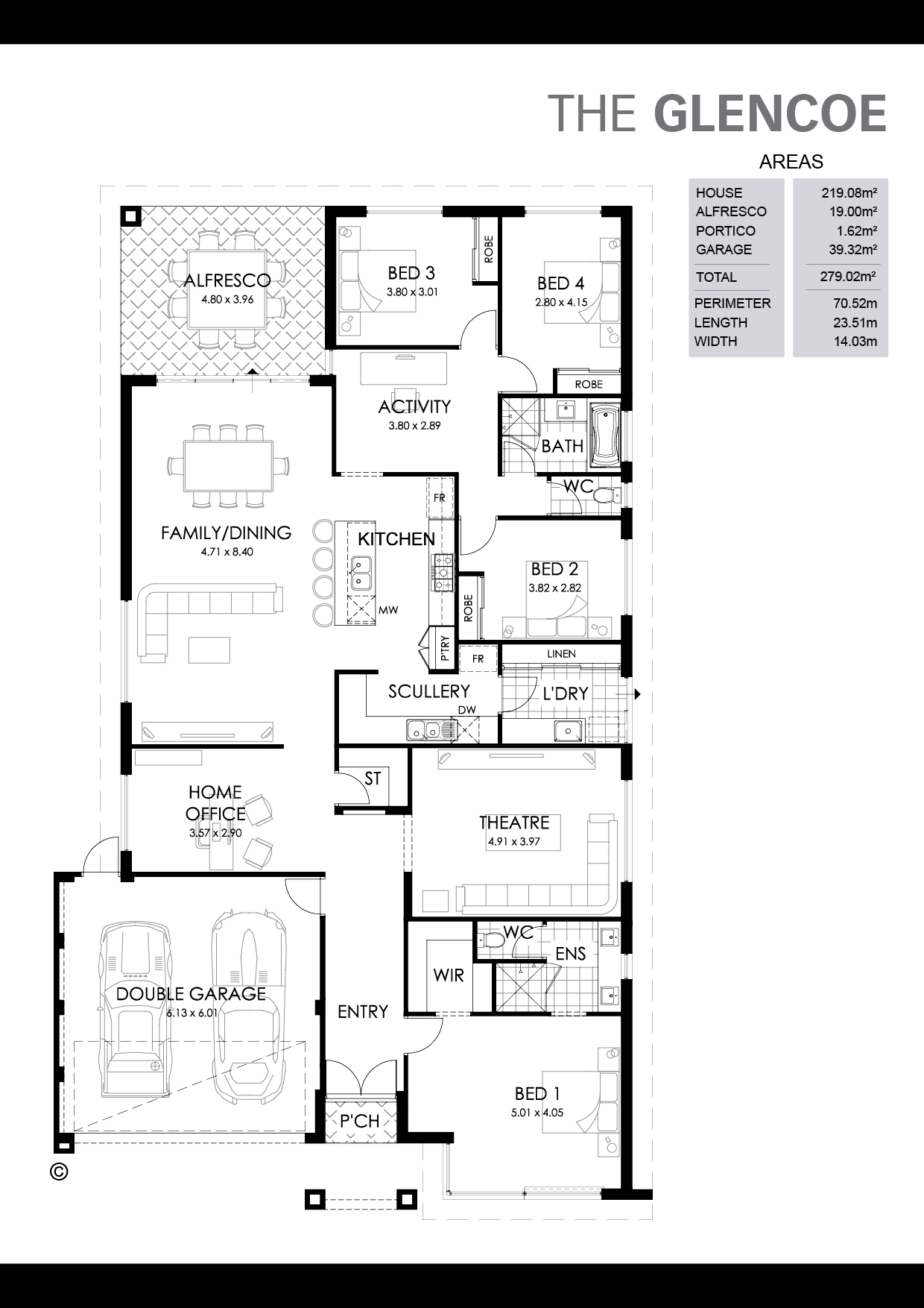 The Glencoe Floorplan