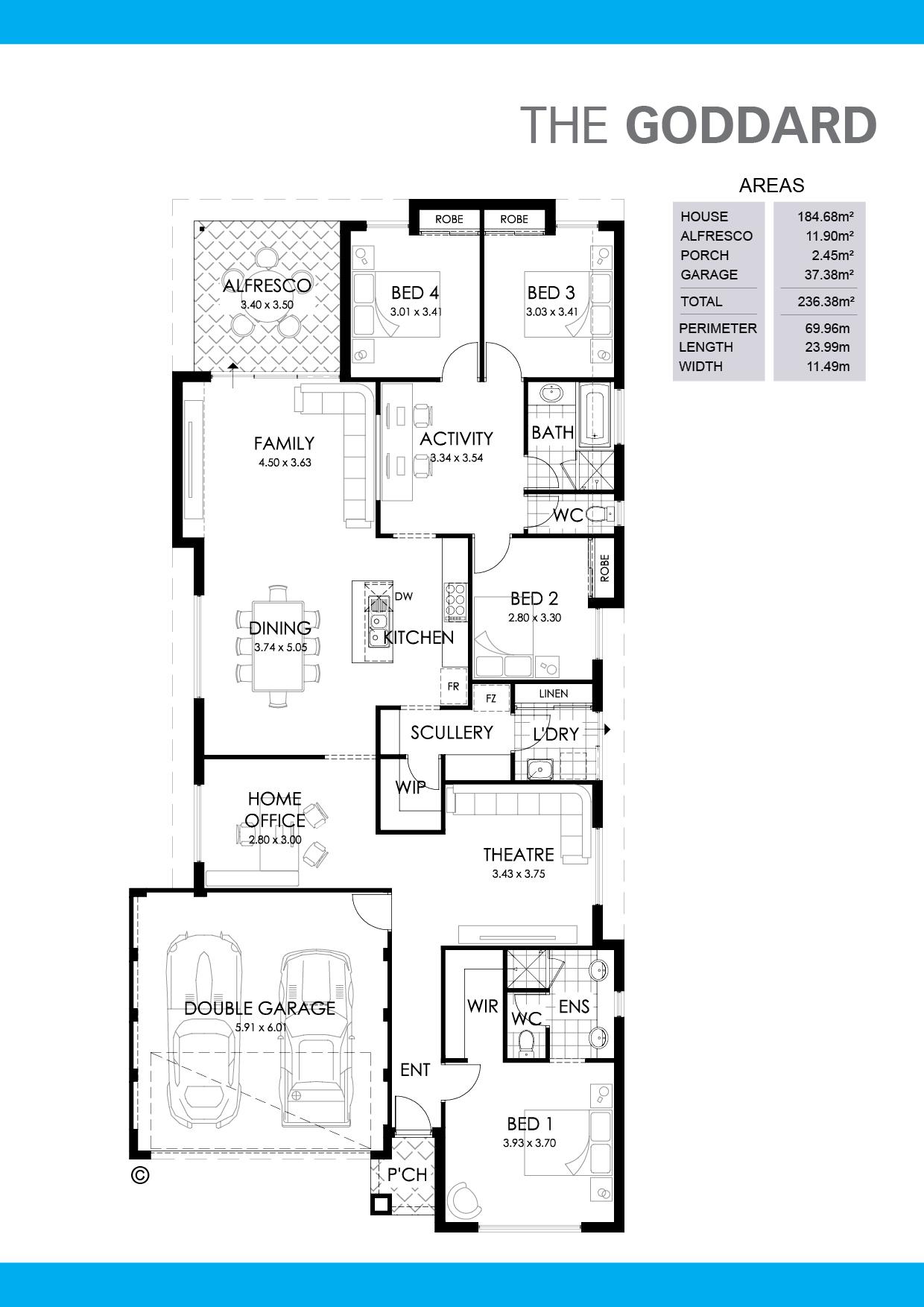 The Goddard Floorplan