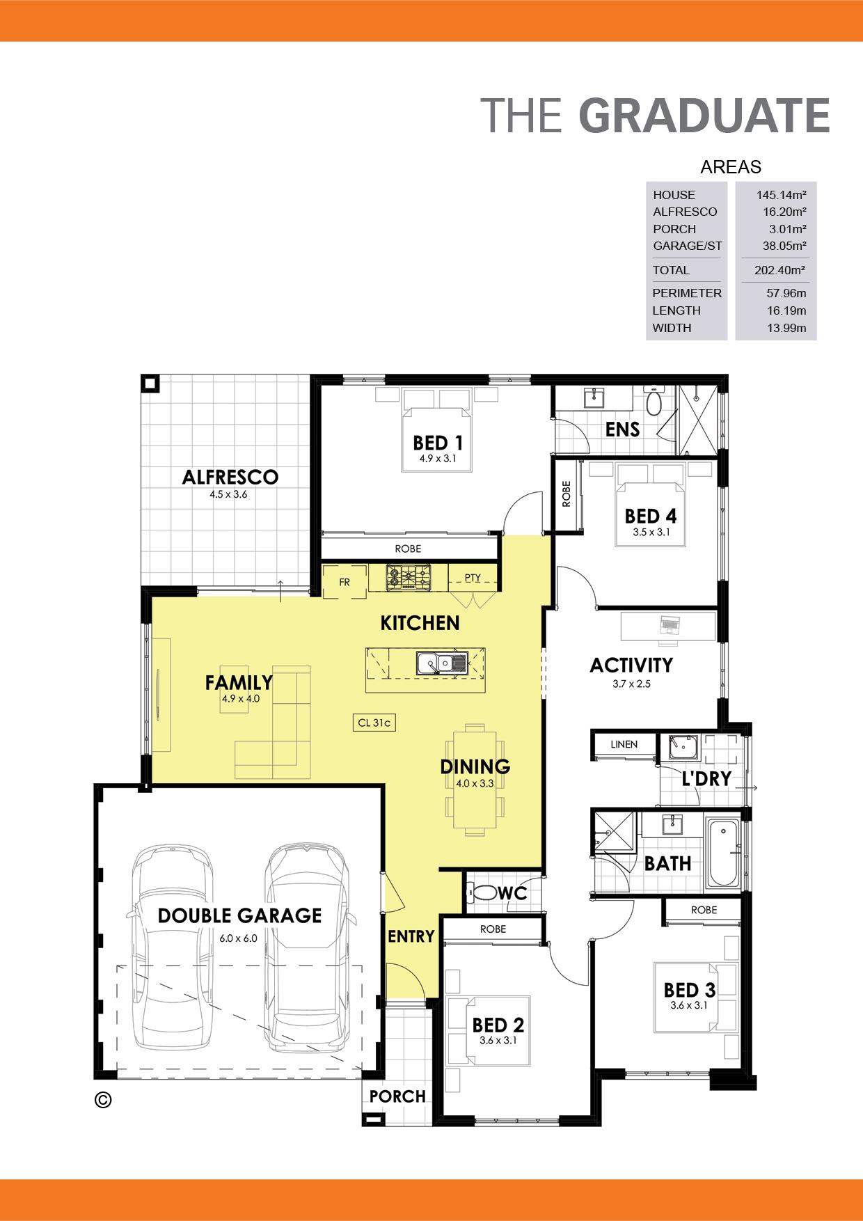 The Graduate Floorplan