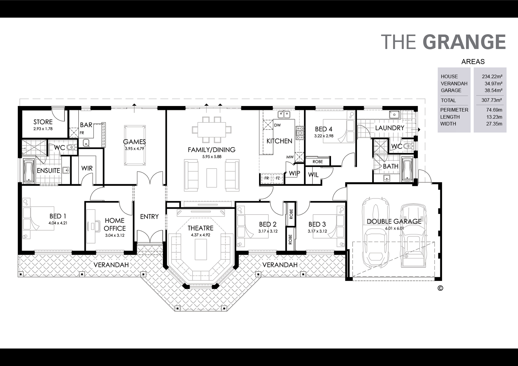 The Grange Floorplan