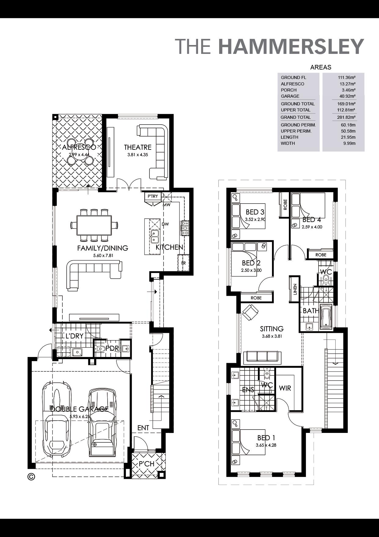 The Hamersley Floorplan