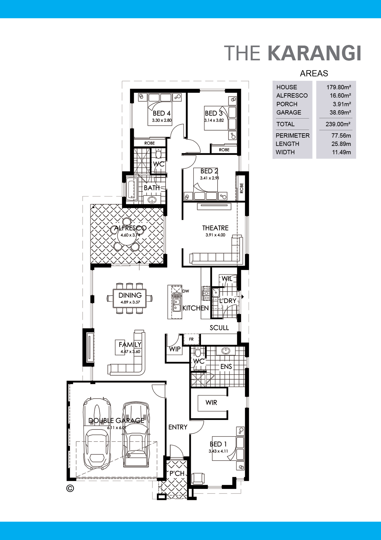 The Karangi Floorplan