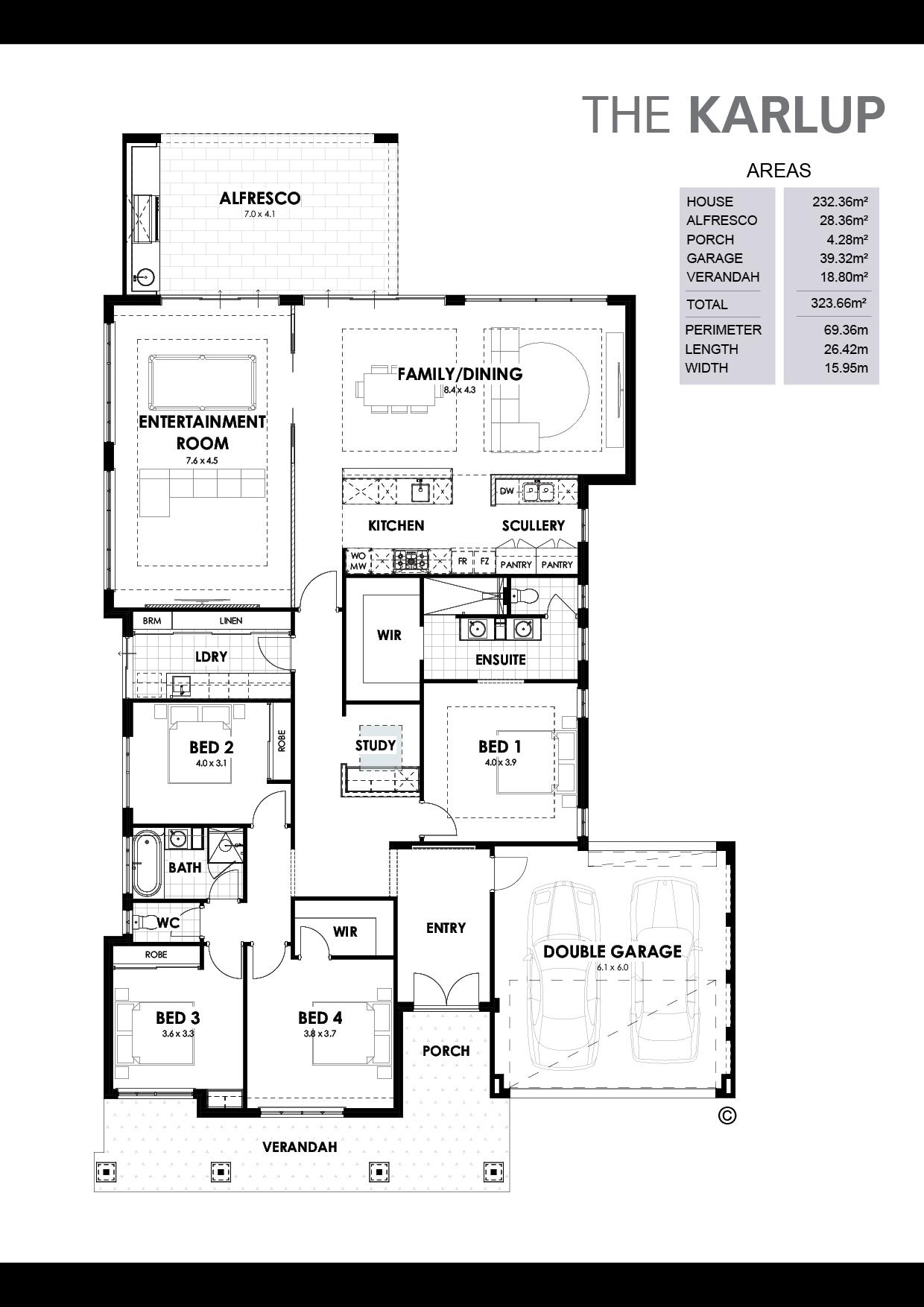 The Karlup Floorplan