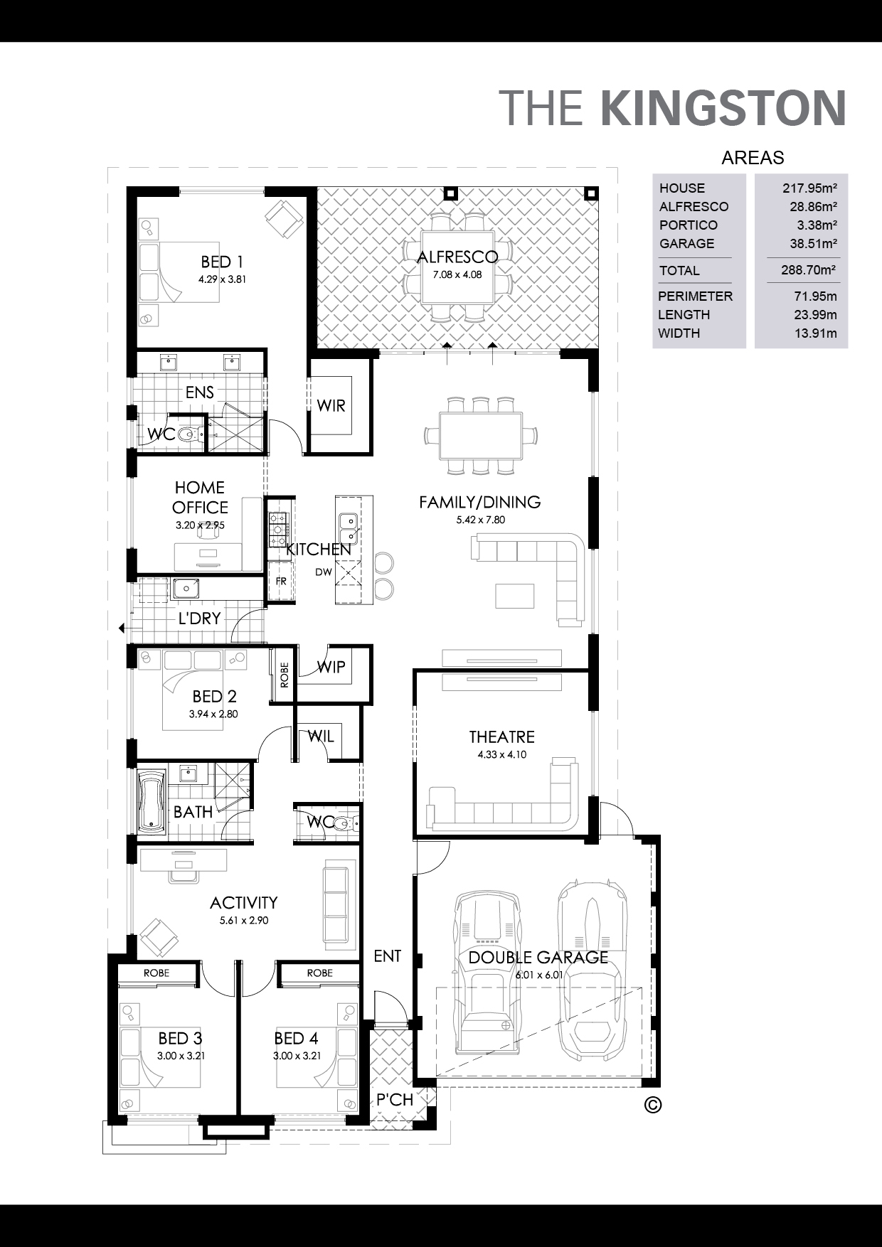 The Kingston Floorplan