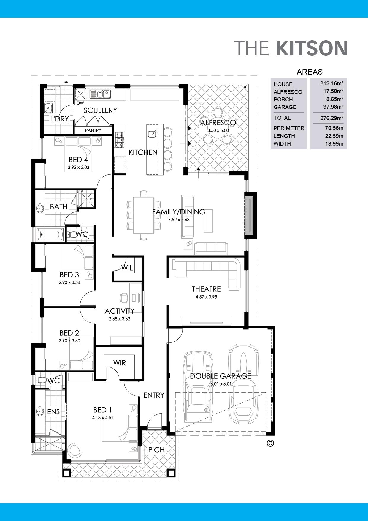 The Kitson Floorplan