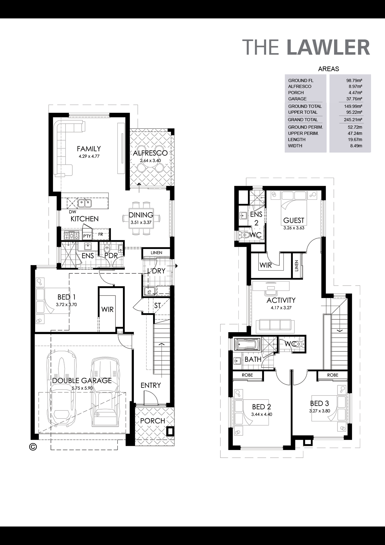 The Lawler Floorplan
