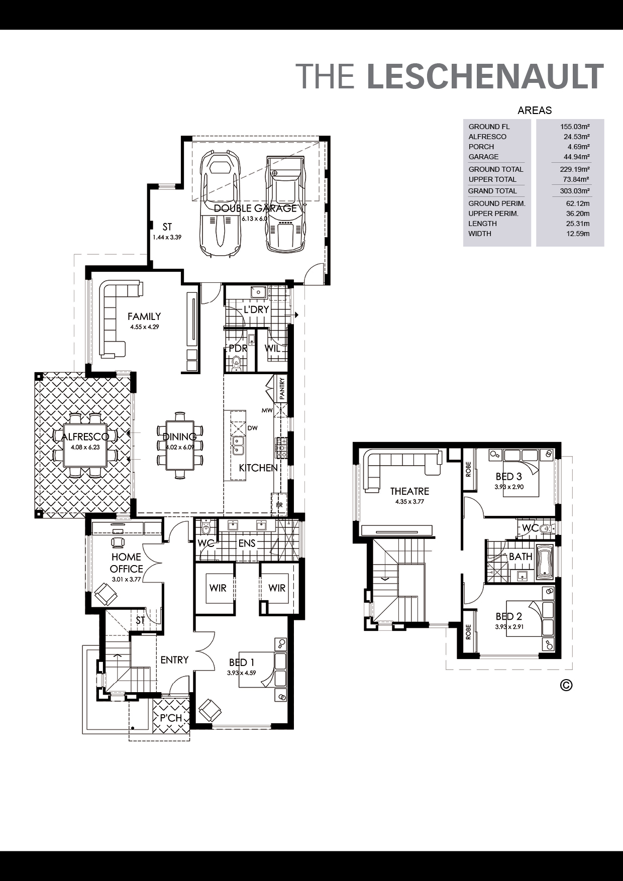 The Leschenault Floorplan