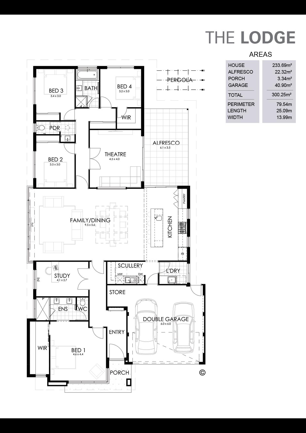 The Lodge Floorplan