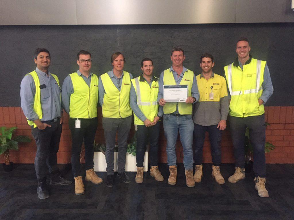 Shelford team awarded at Garden Island