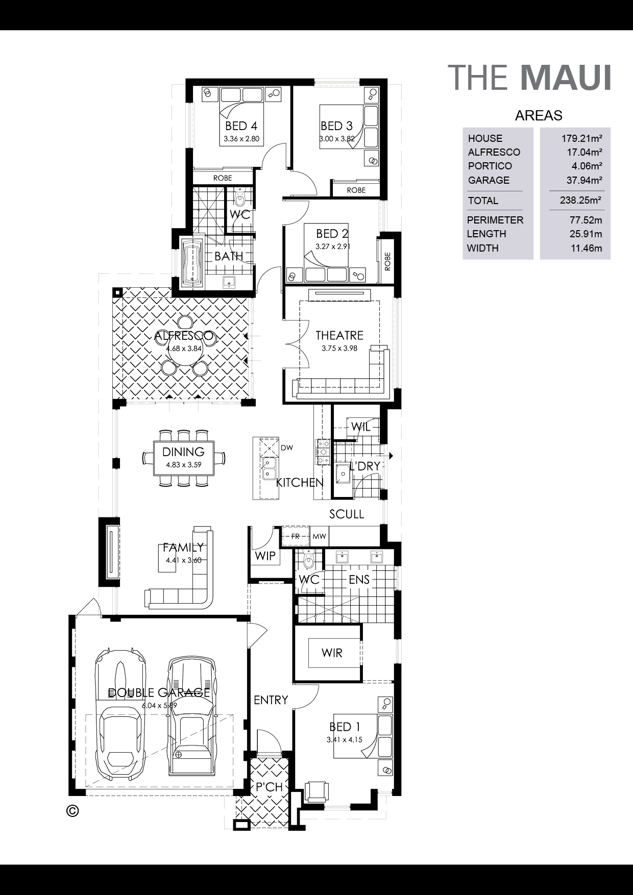 The Maui Floorplan