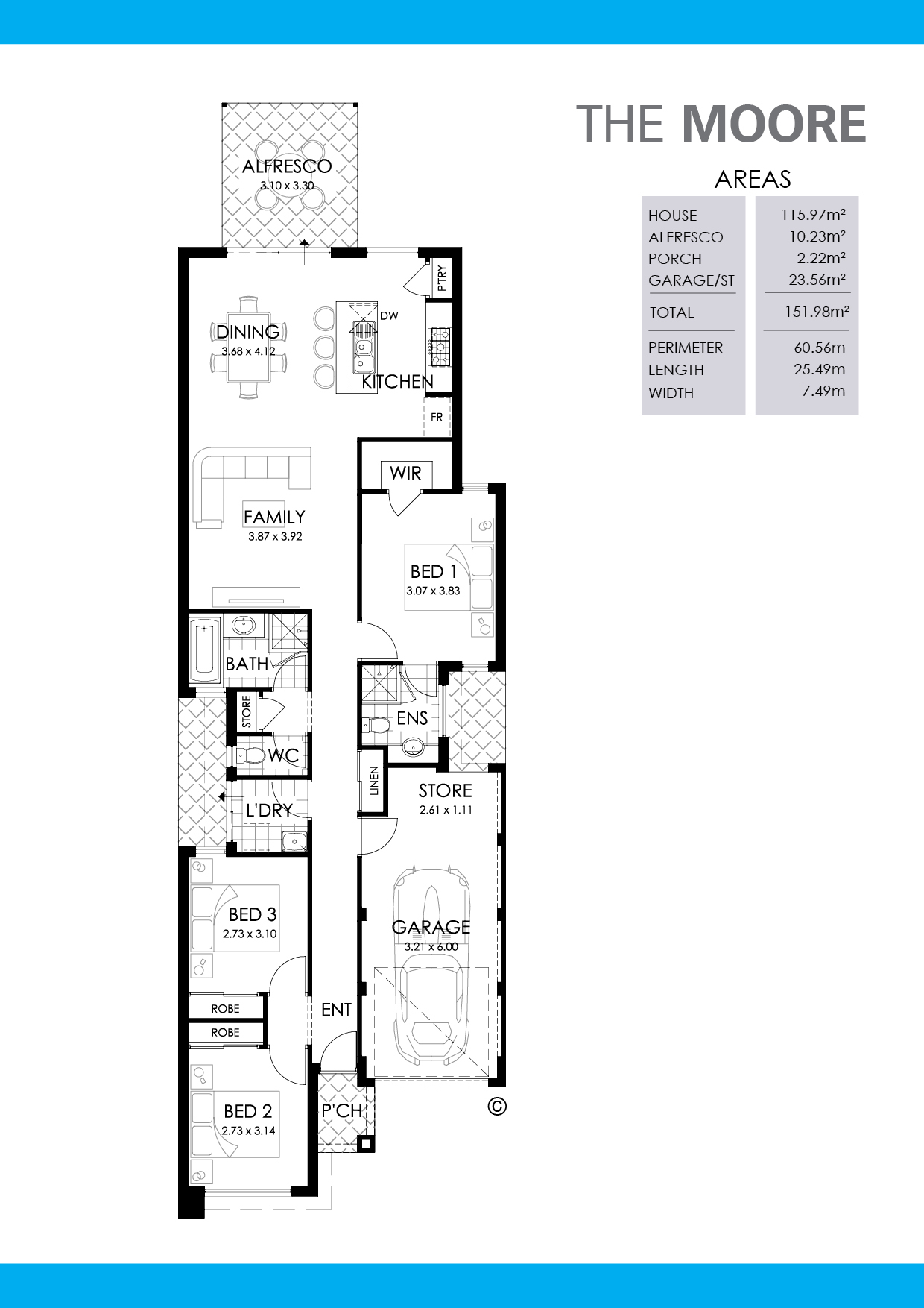 The Moore Floorplan