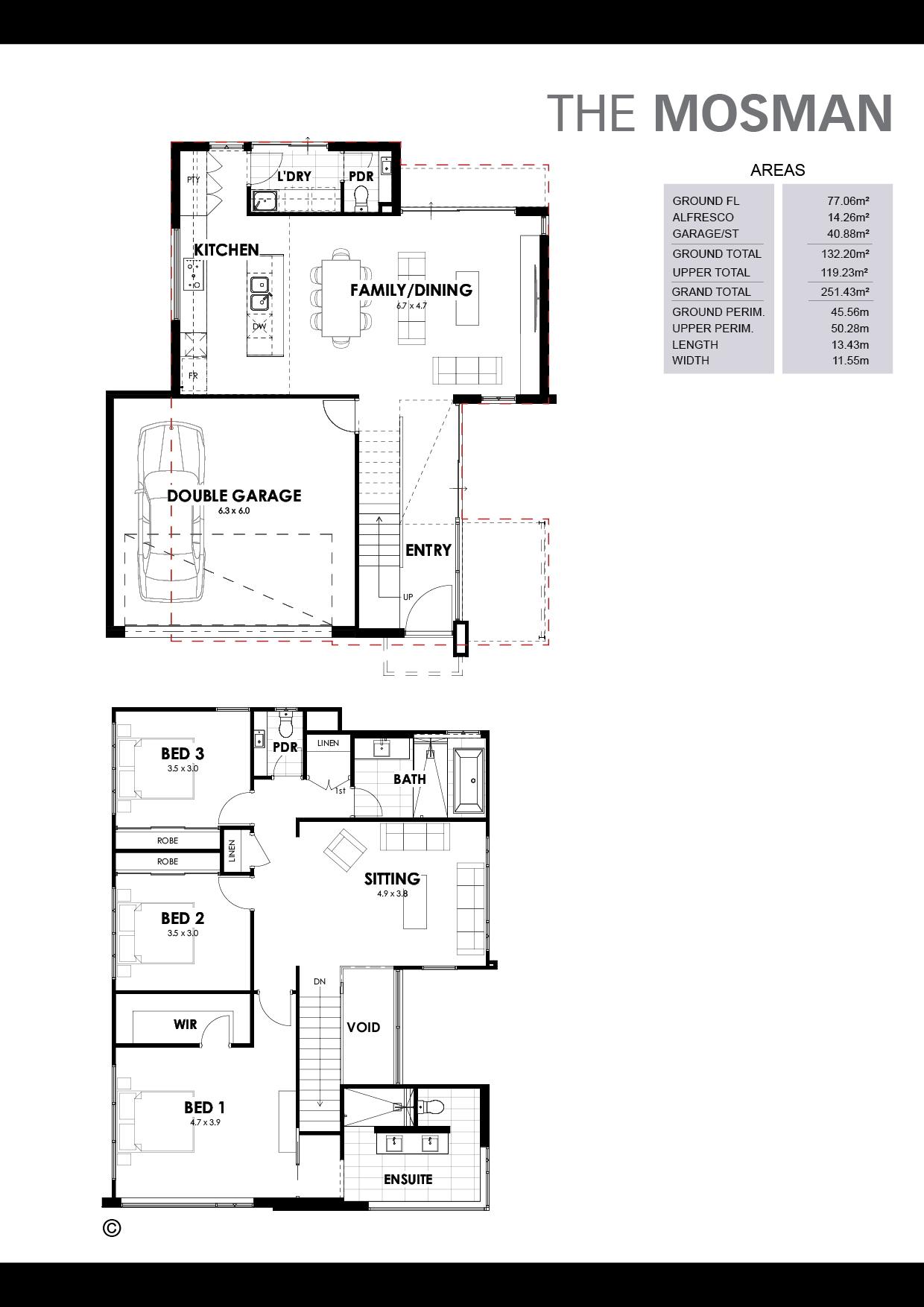 The Mosman Floorplan
