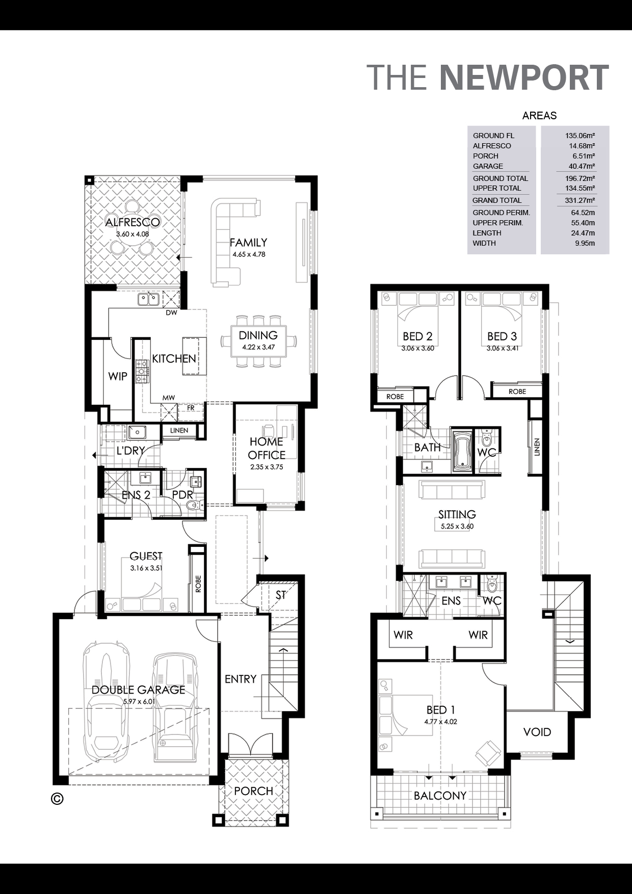 The Newport Floorplan