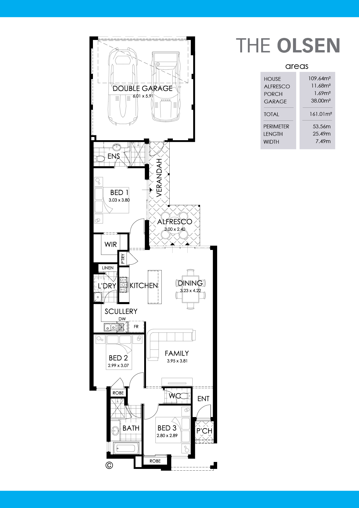 The Olsen Floorplan