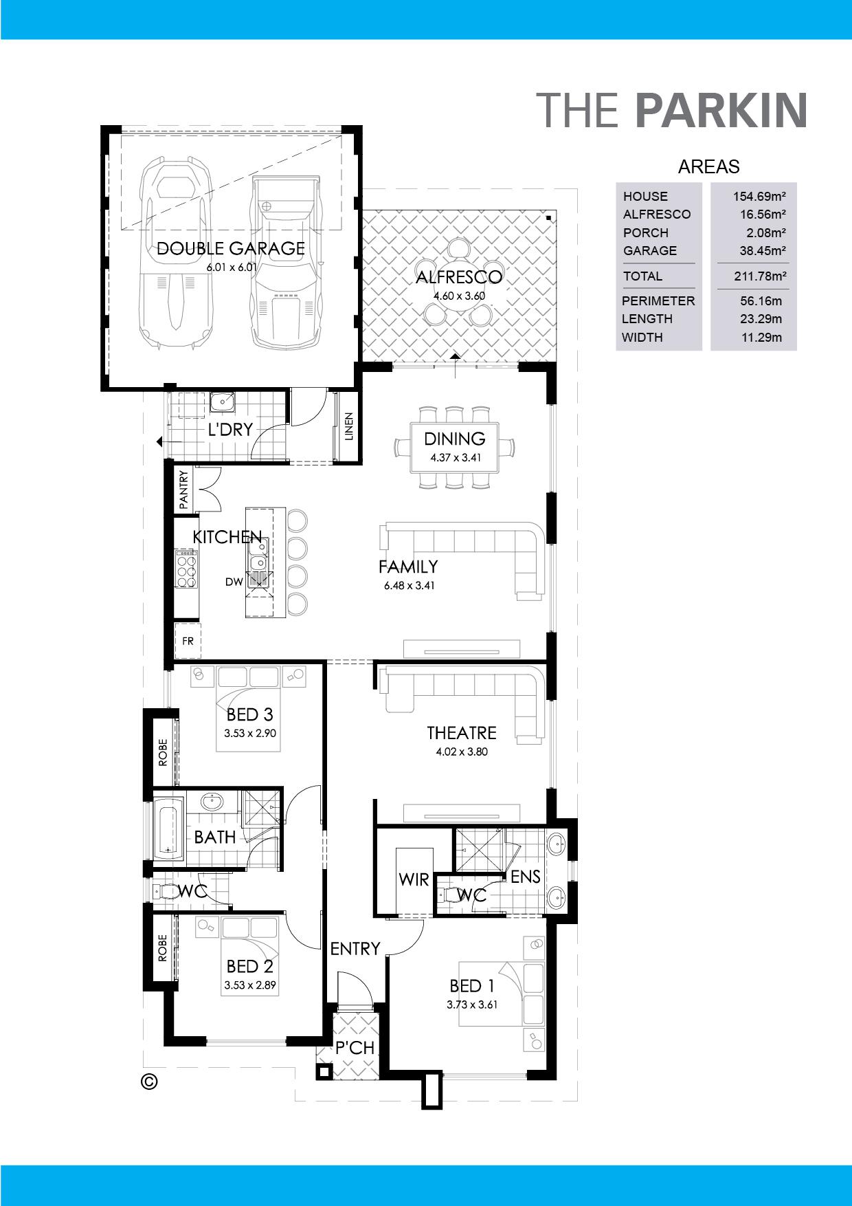 The Parkin Floorplan