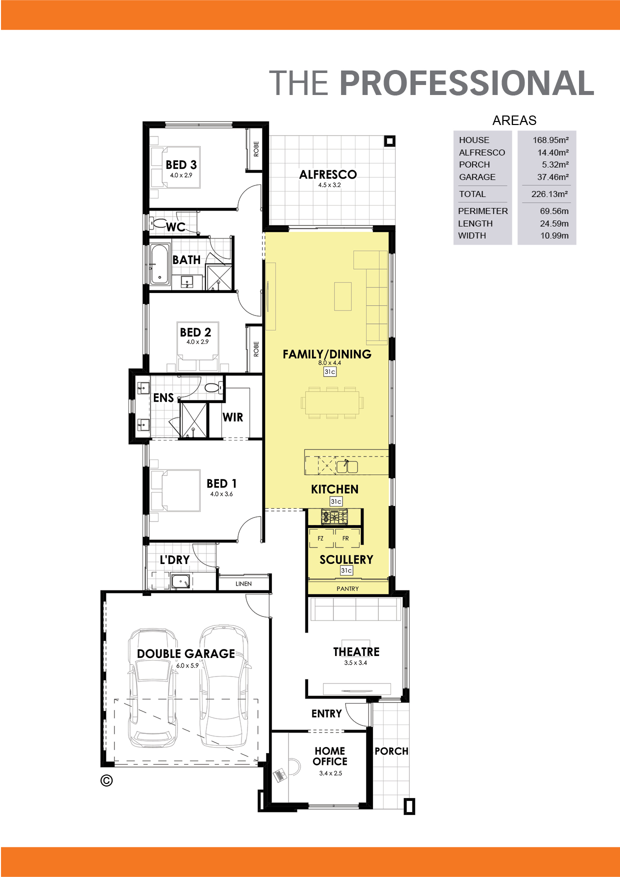 The Professional Floorplan
