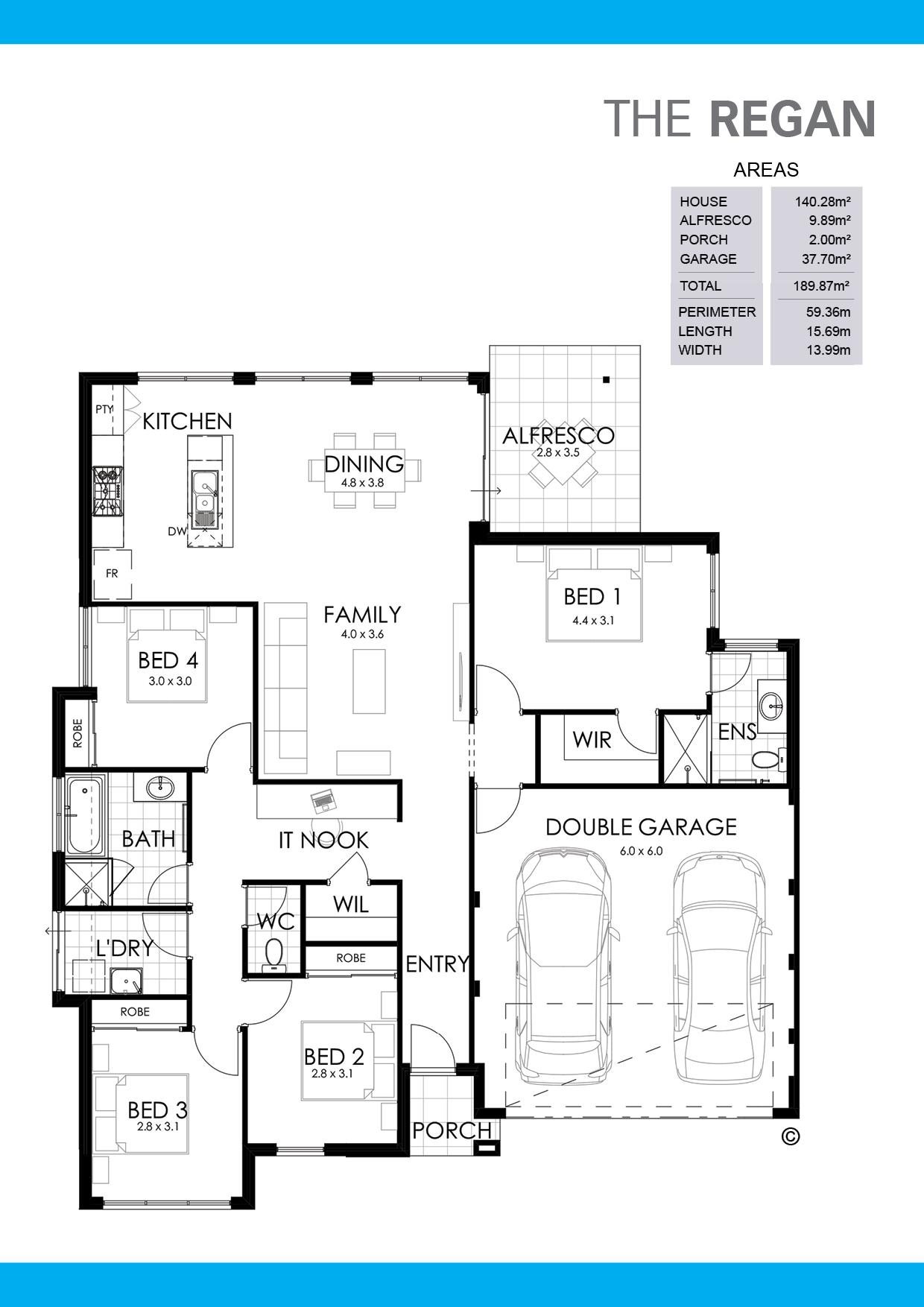 The Regan Floorplan