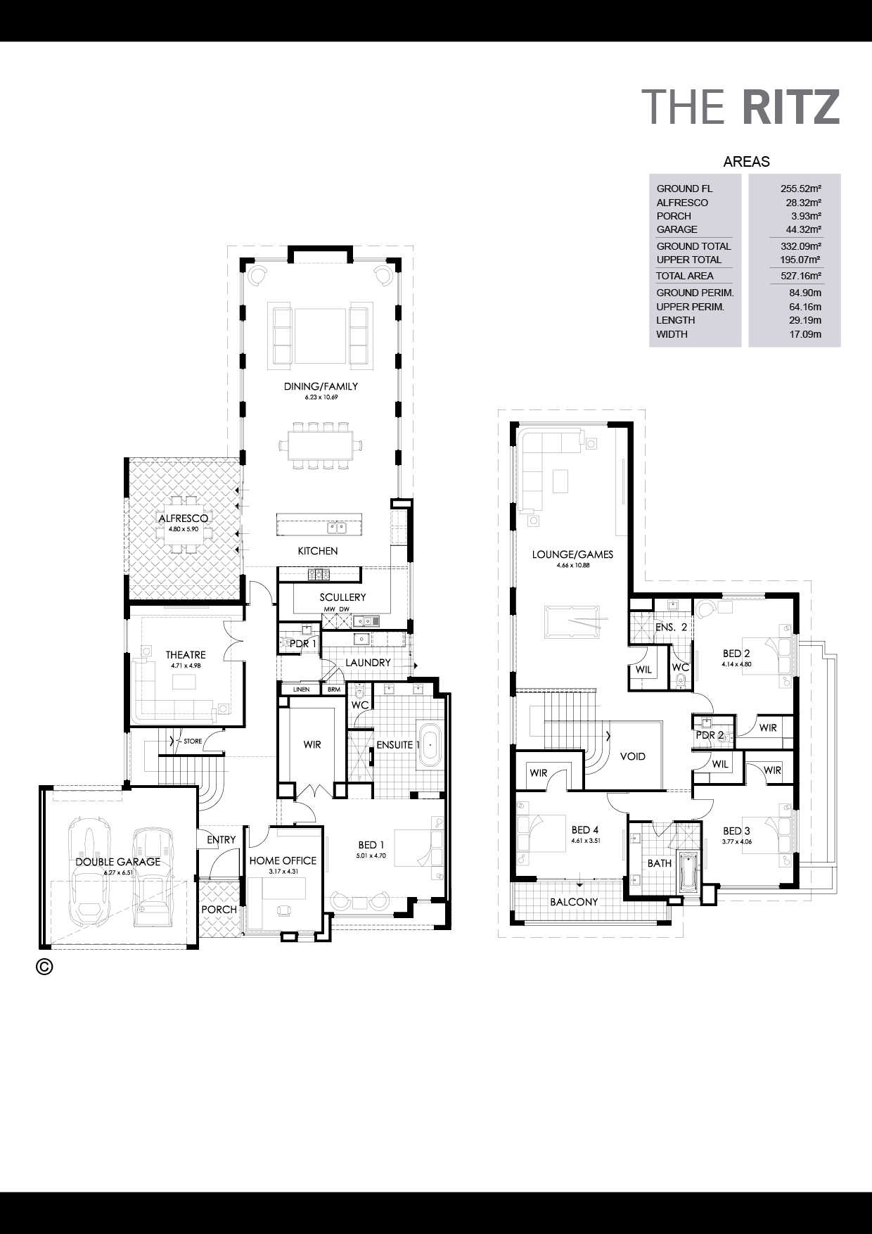 The Ritz Floorplan