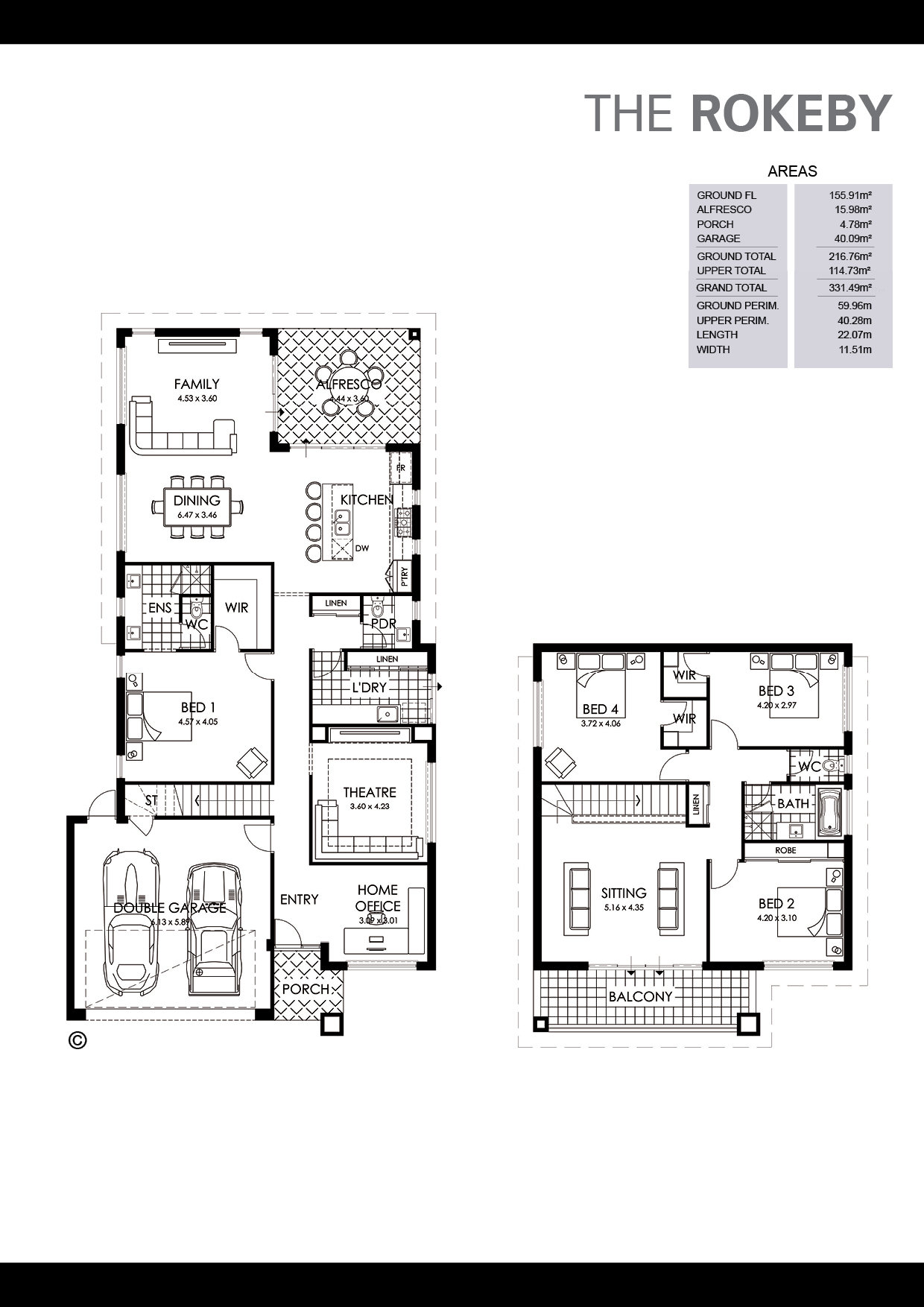 The Rokeby Floorplan