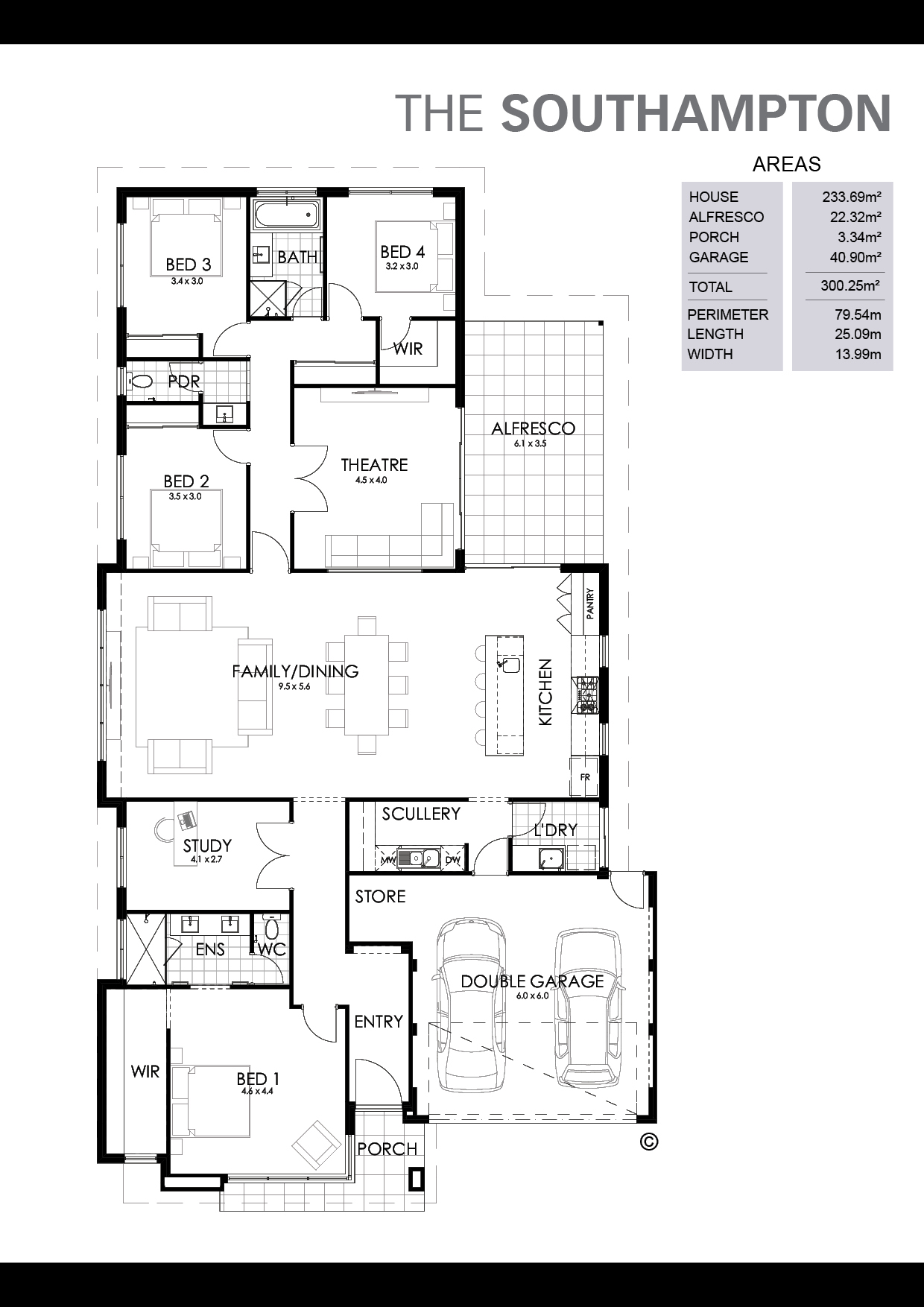 The Southampton Floorplan