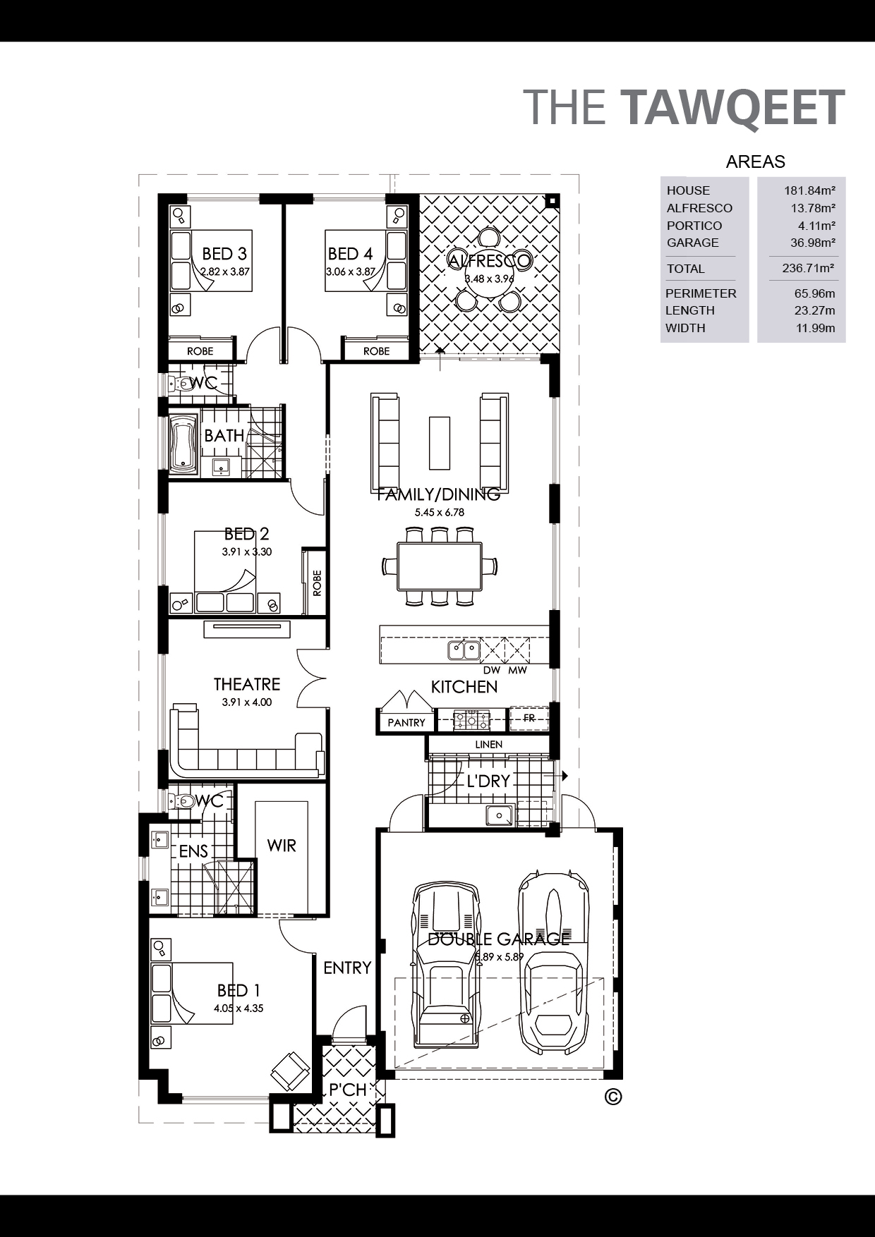 The Tawqeet Floorplan