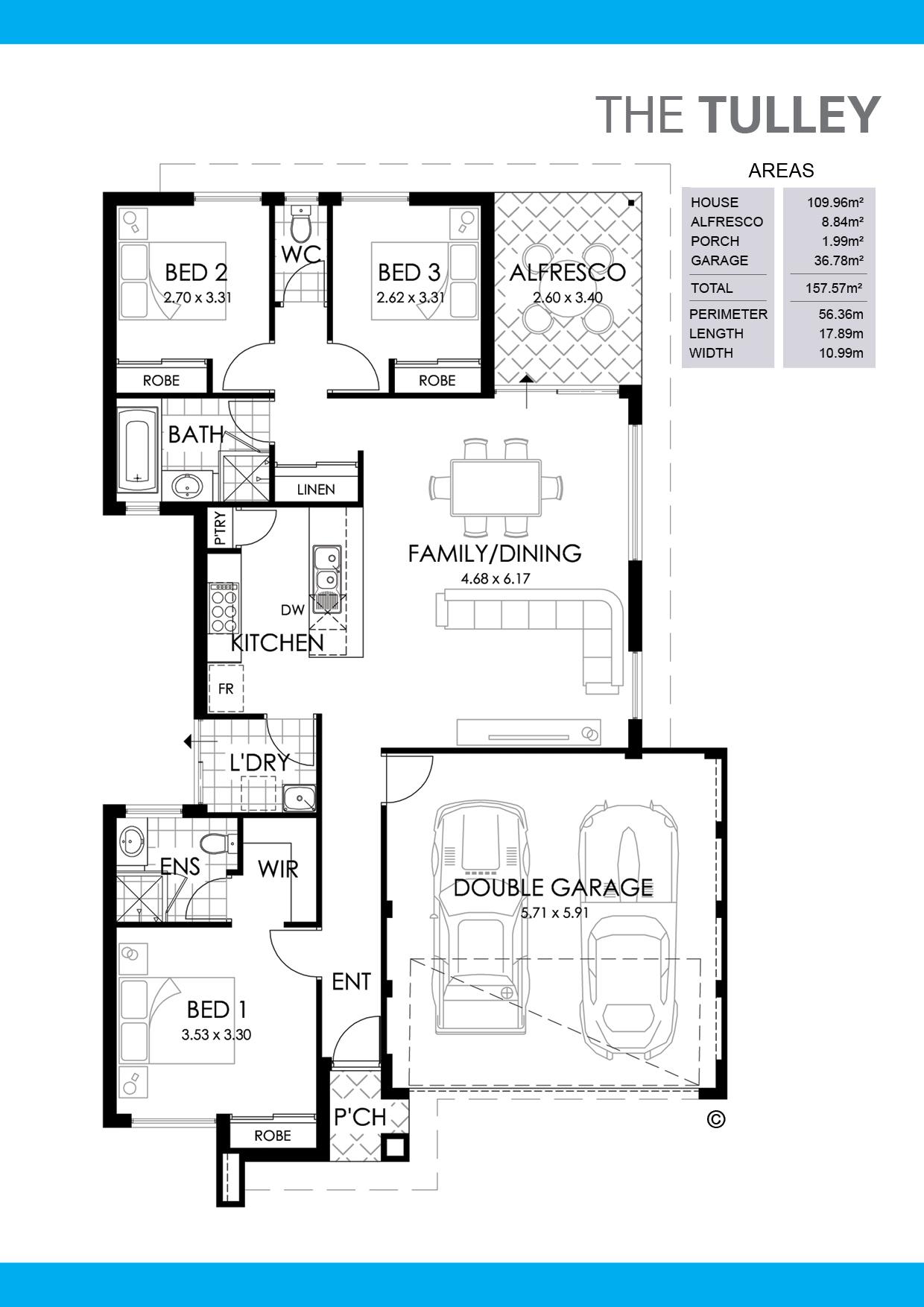 The Tulley Floorplan