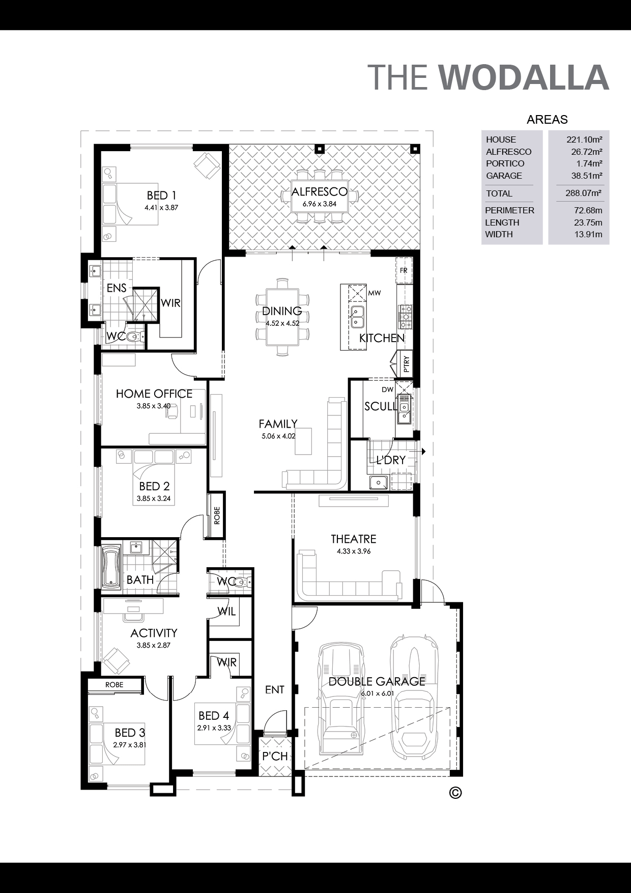 The Wodalla Floorplan
