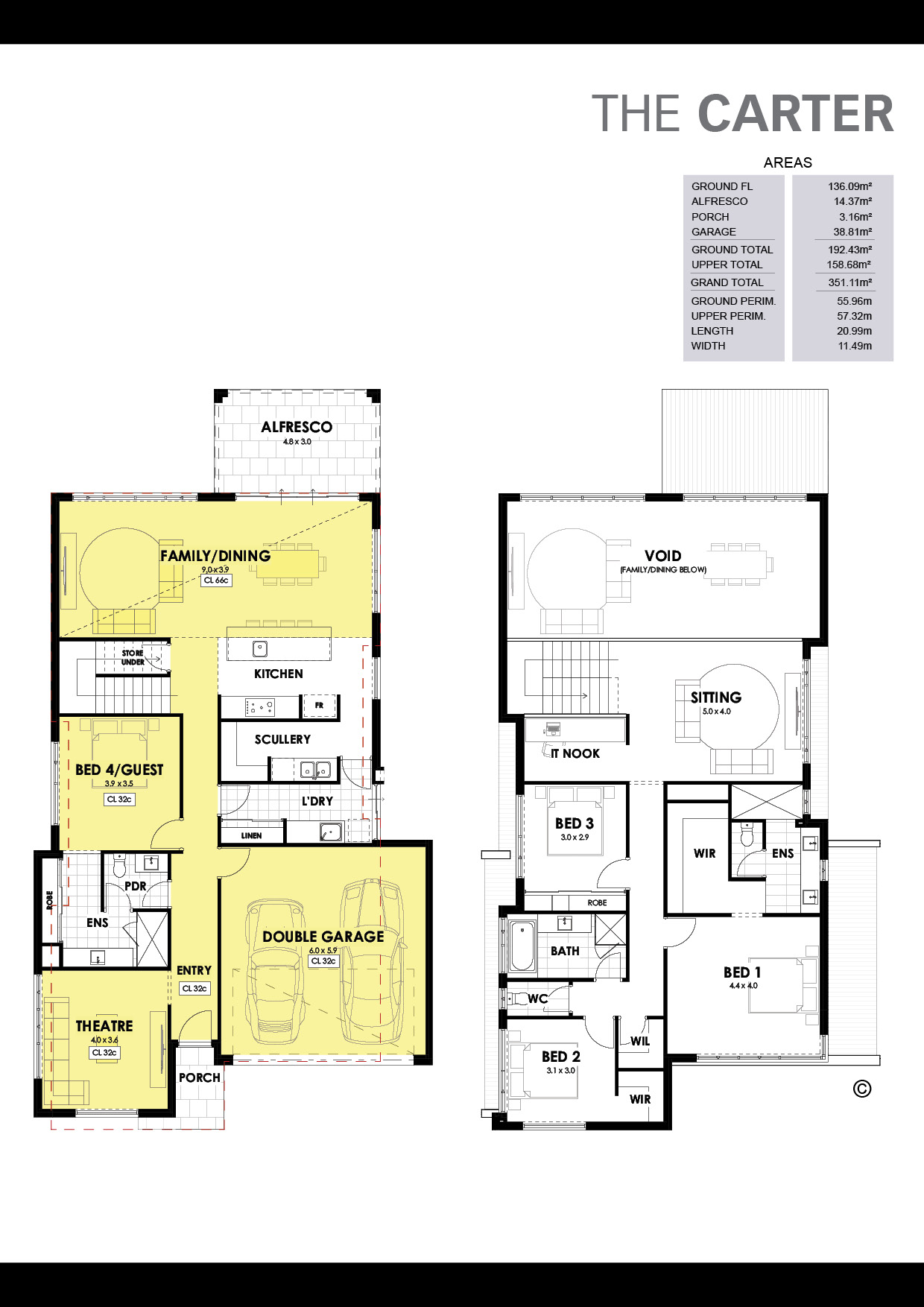 The Carter Floorplan
