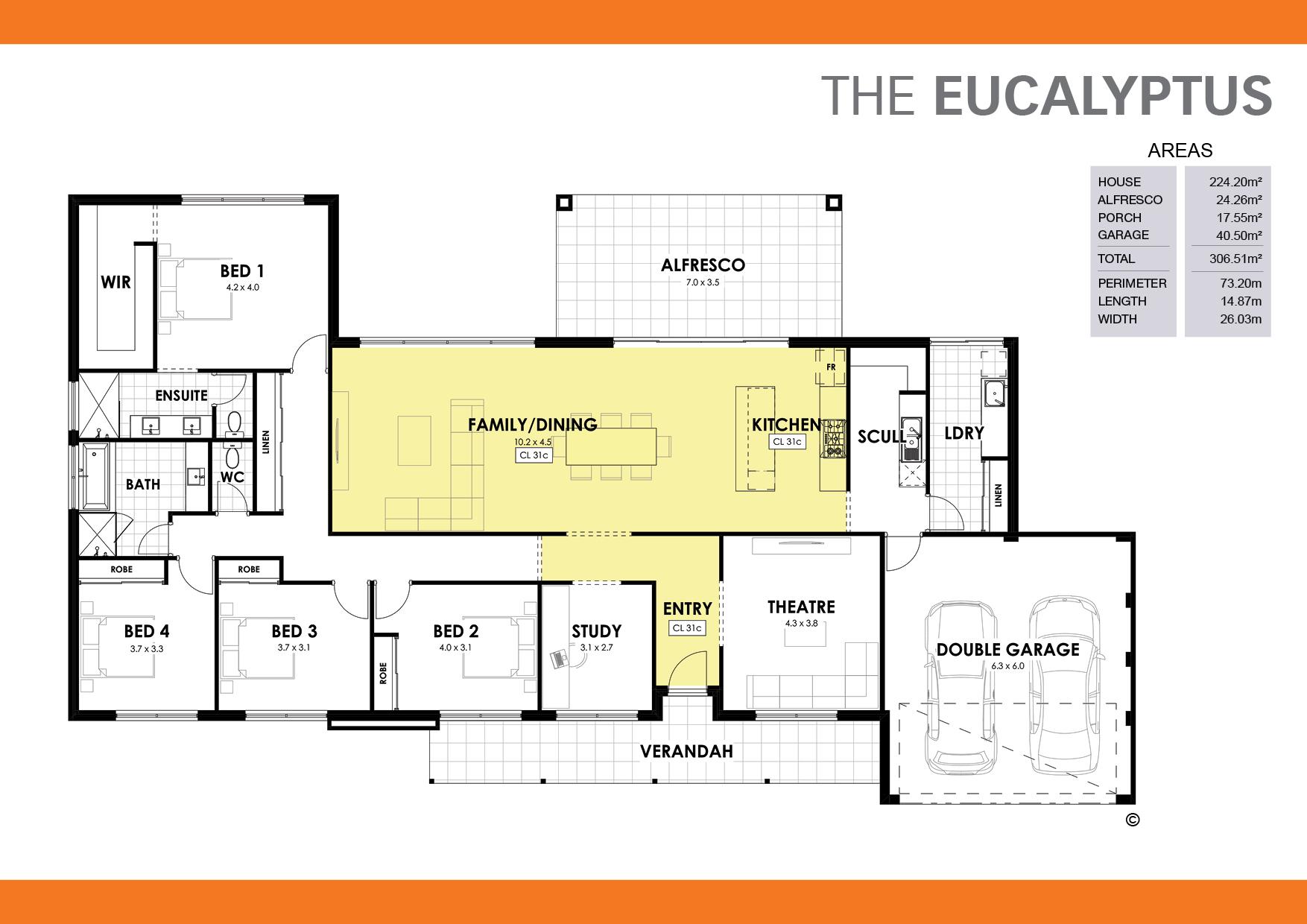 The Eucalyptus Floorplan