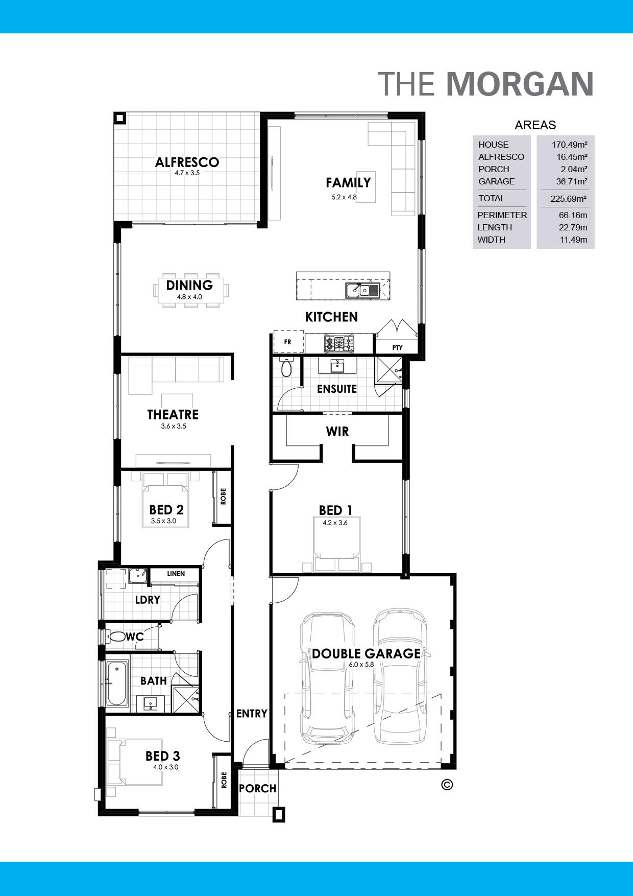 The Morgan Floorplan
