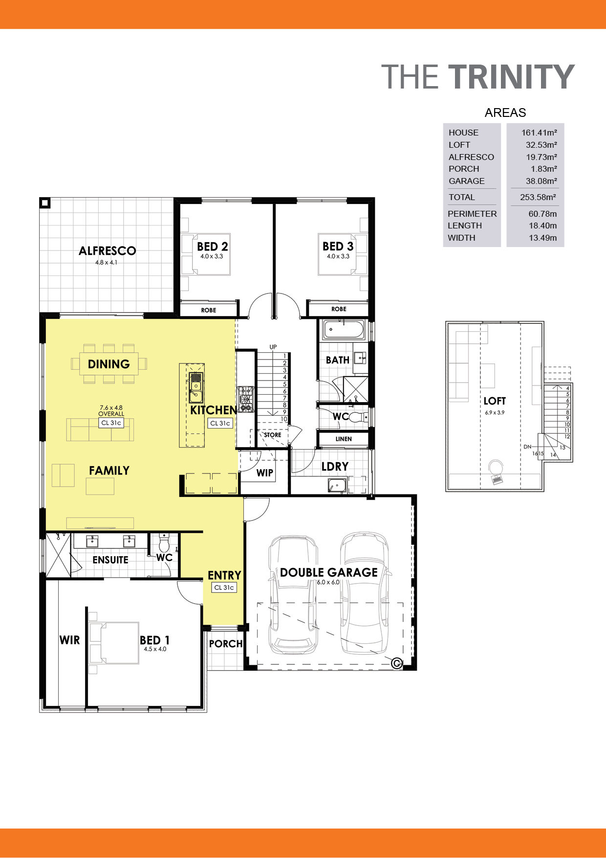 The Trinity Floorplan